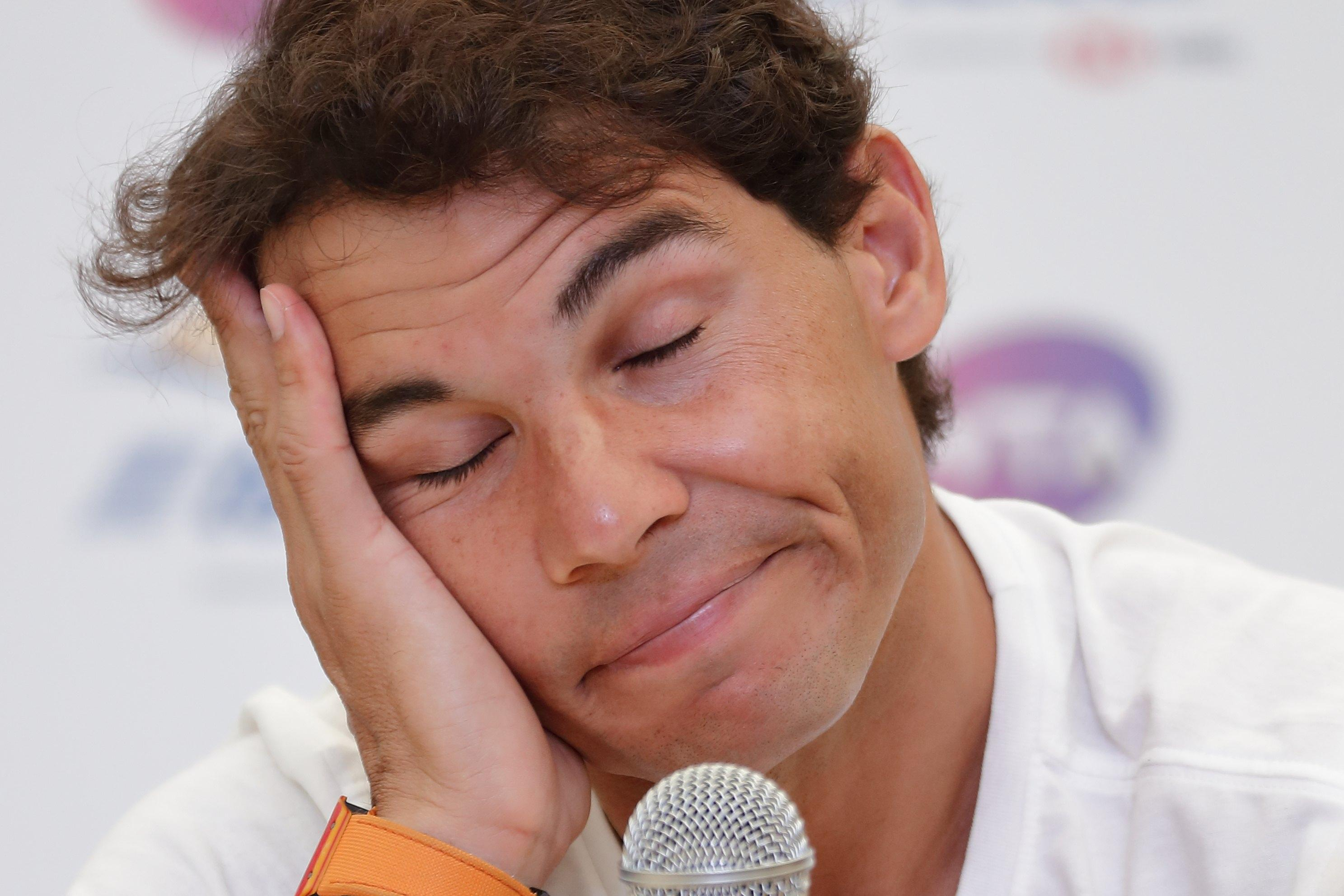 Rafa Nadal admitted to his uncle that he would swap some of his success less pain