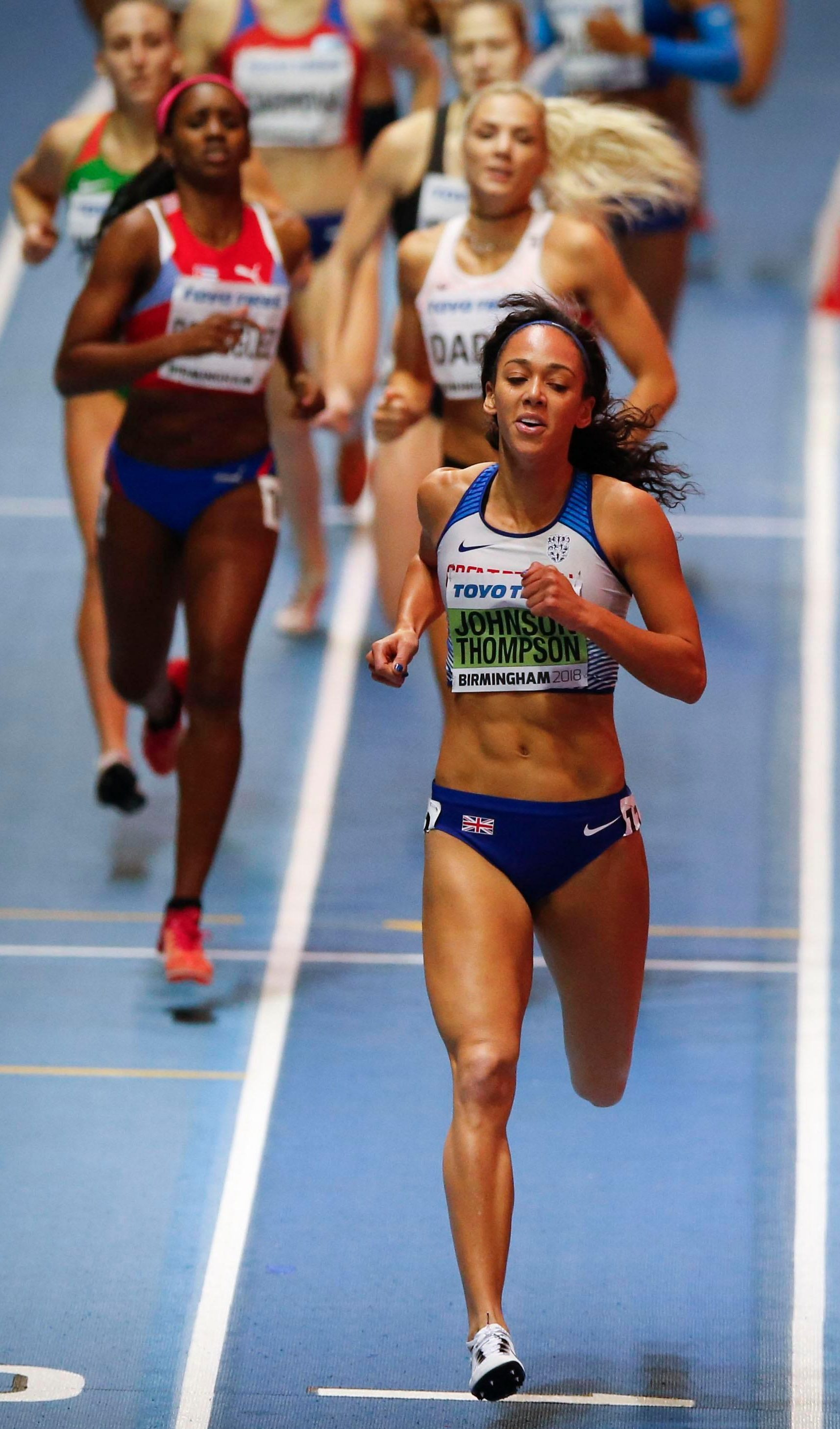 Kat has set her heart on Olympic glory - after she cleans up at the Commonwealth Games