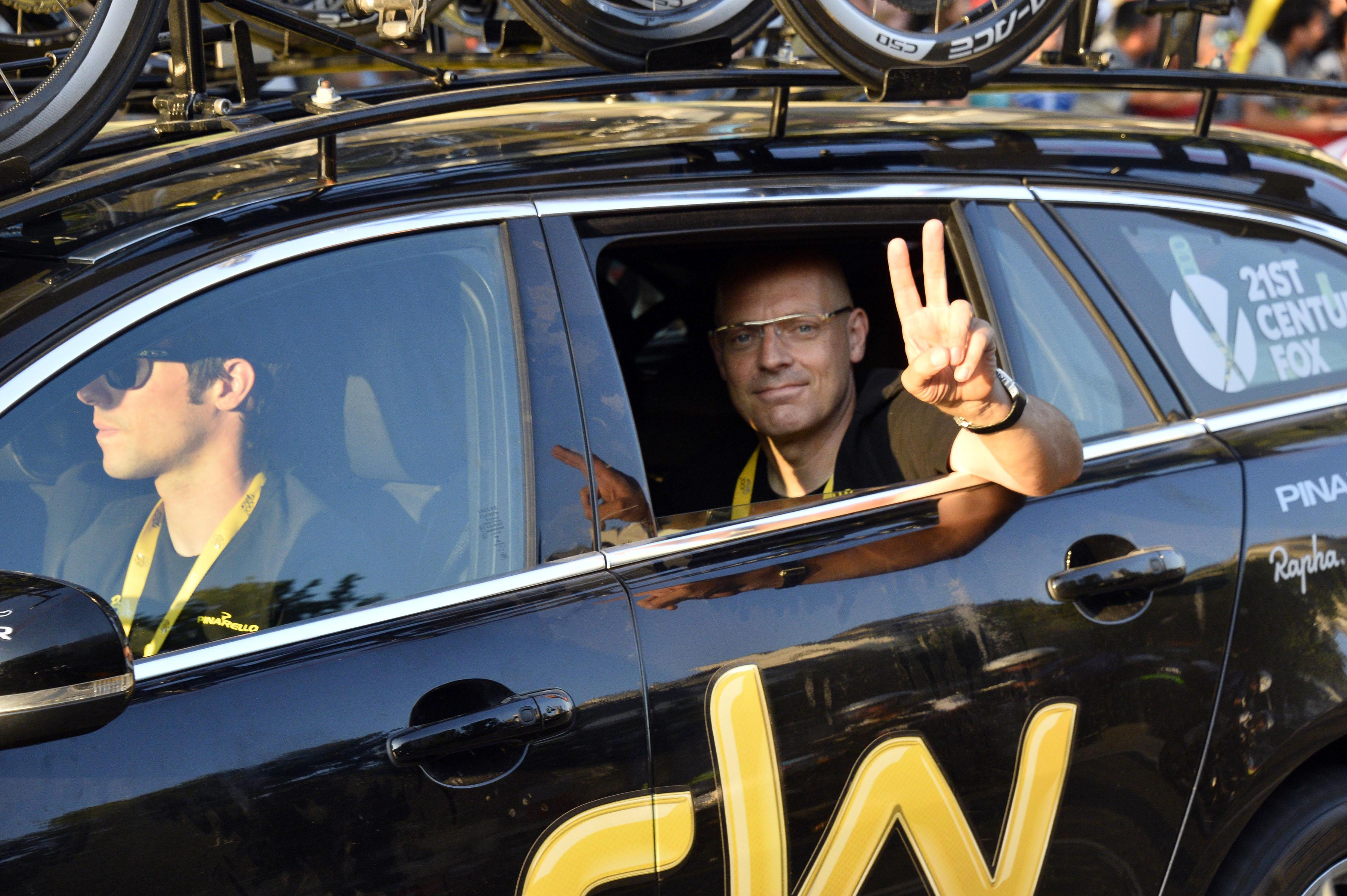Brailsford remains in charge of Team Sky despite the controversy