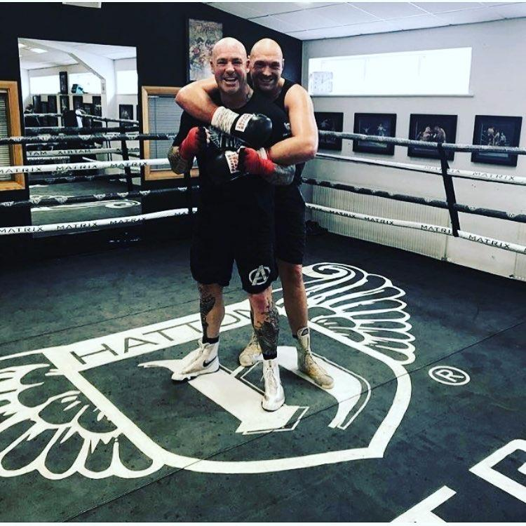 Tyson Fury has been sparring withAustralian Lucas Browne