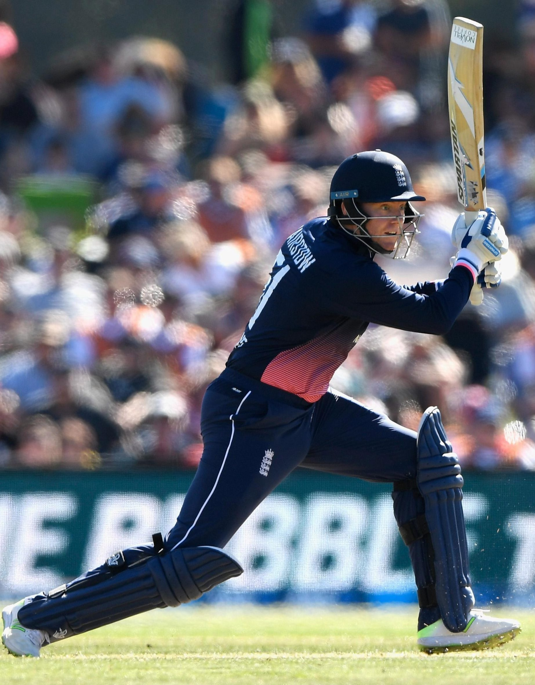Jonny Bairstow reached his century in just 58 balls as England brushed aside New Zealand