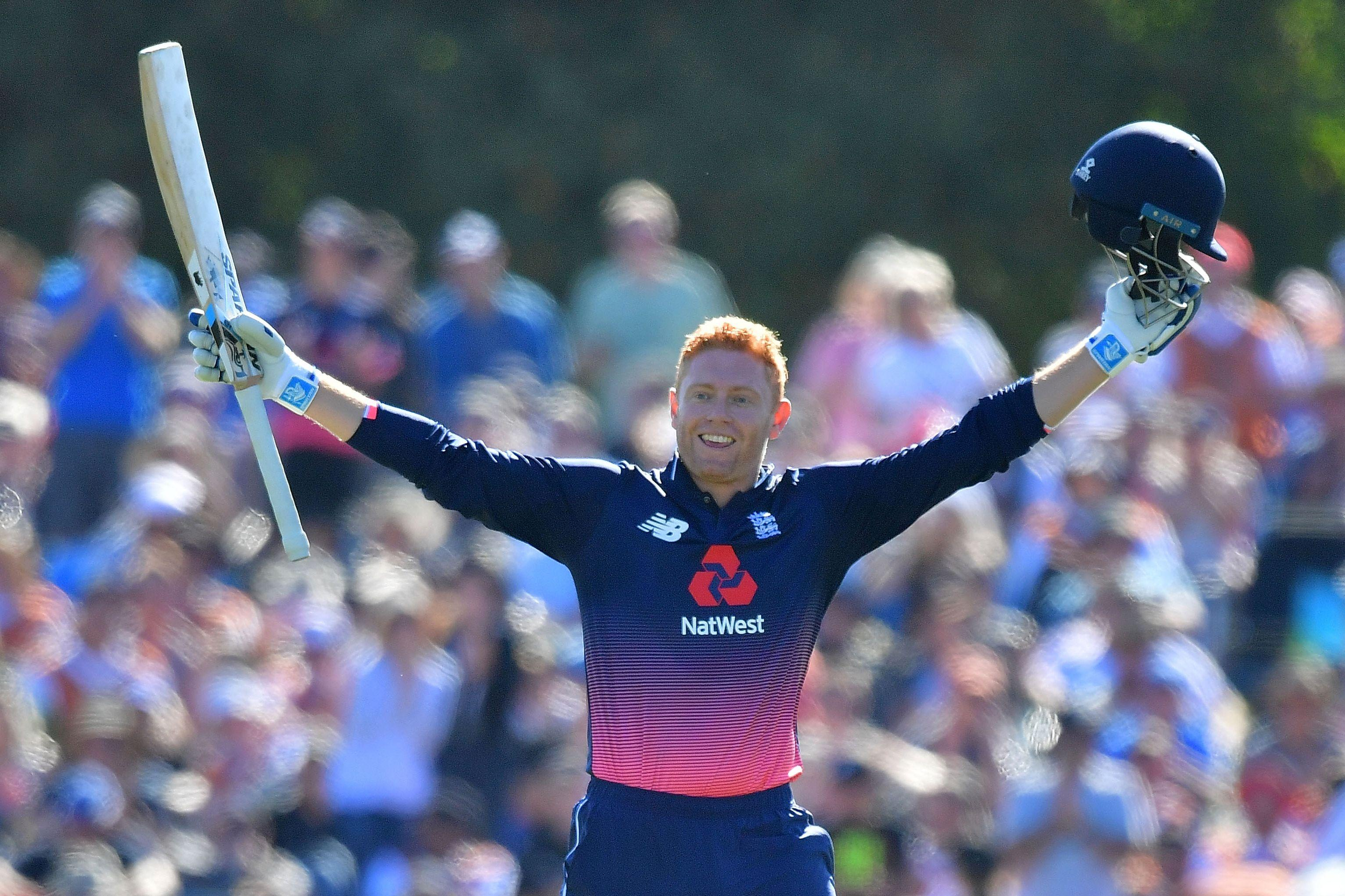 Jonny Bairstow was the top man again as England thrashed New Zealand to wrap up a 3-2 Series win