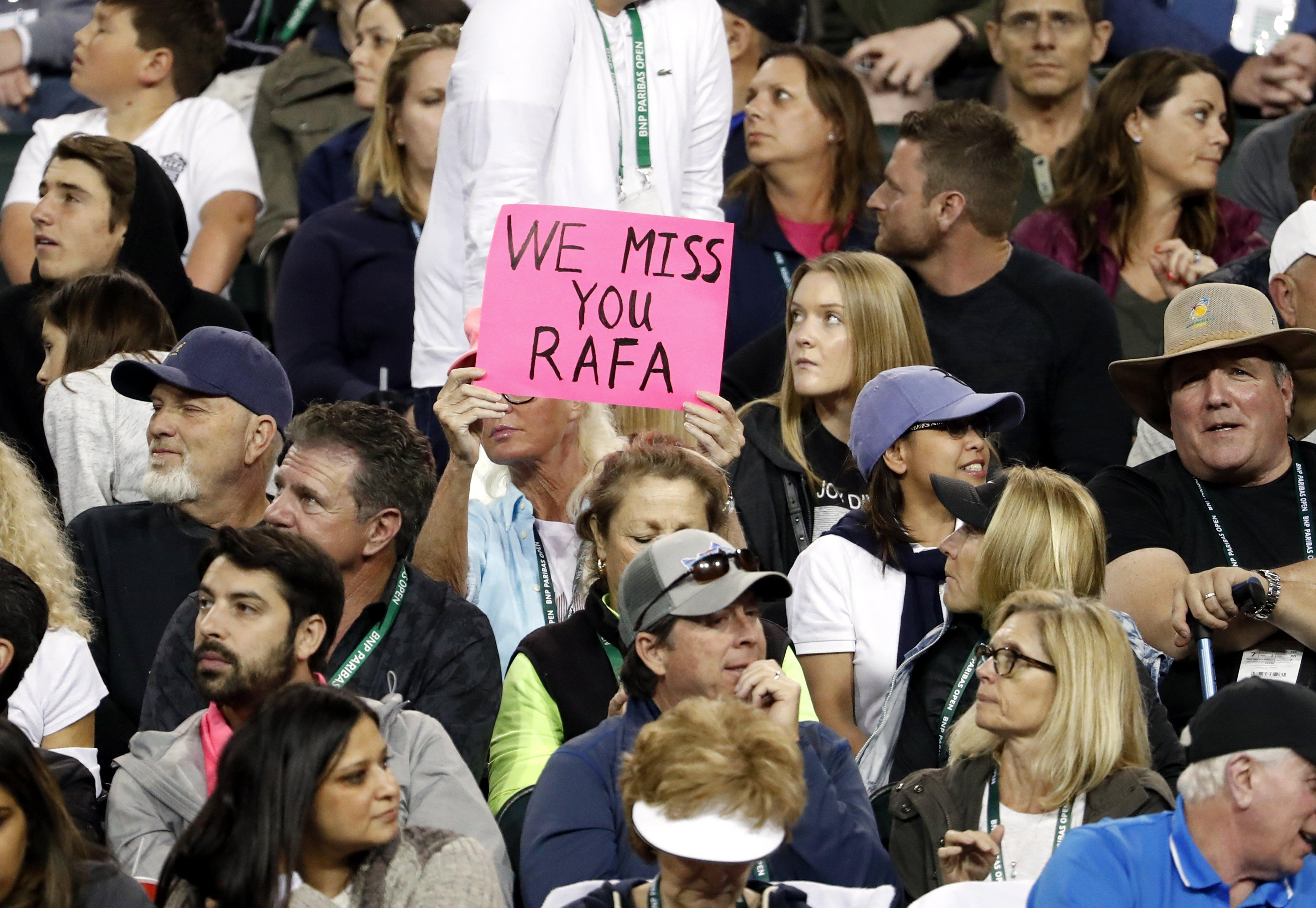 Tennis icon Rafa Nadal has battled through the pain barrier to thrill fans