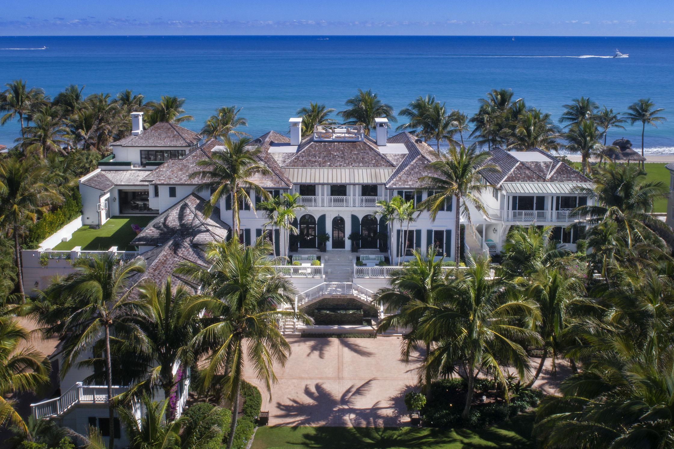 Elin Nordegren has put her stunning £36million mansion on the market