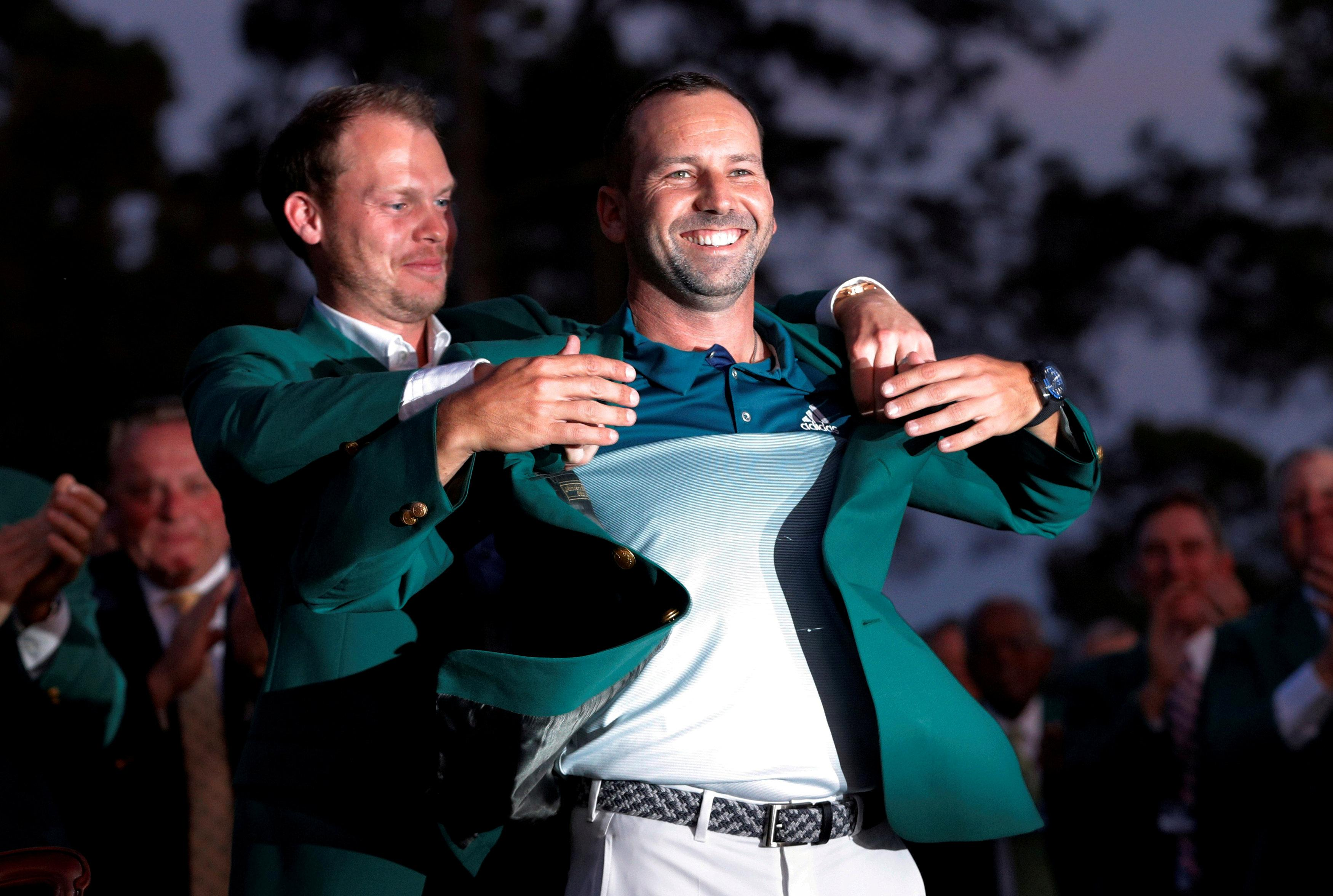 Garcia was crowned Masters champion after an impressive showing