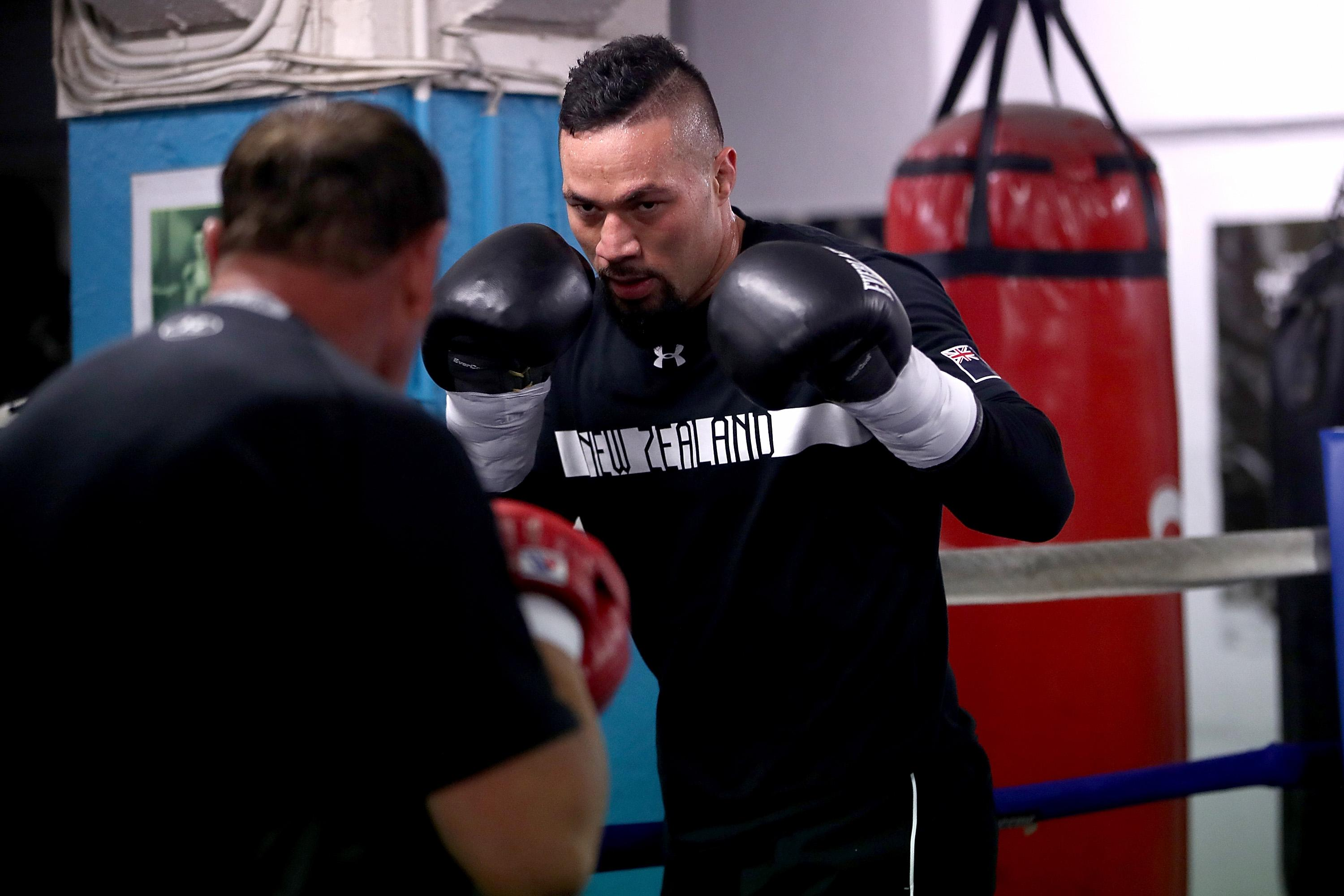 Joseph Parker underwent TWO elbow surgeries ahead of his fight with Anthony Joshua