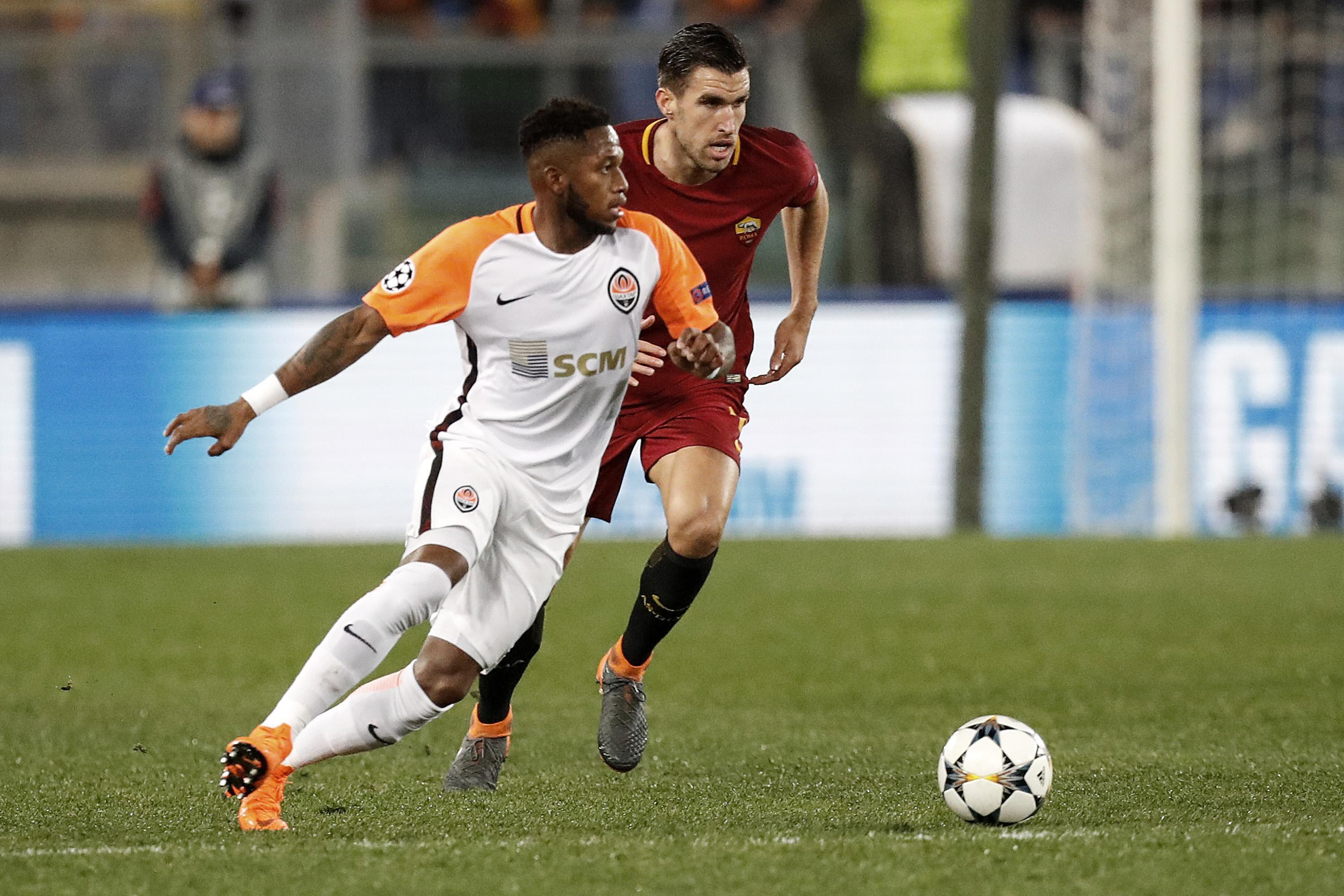 Shakhtar Donetsk icon Fred has also been linked with Man City
