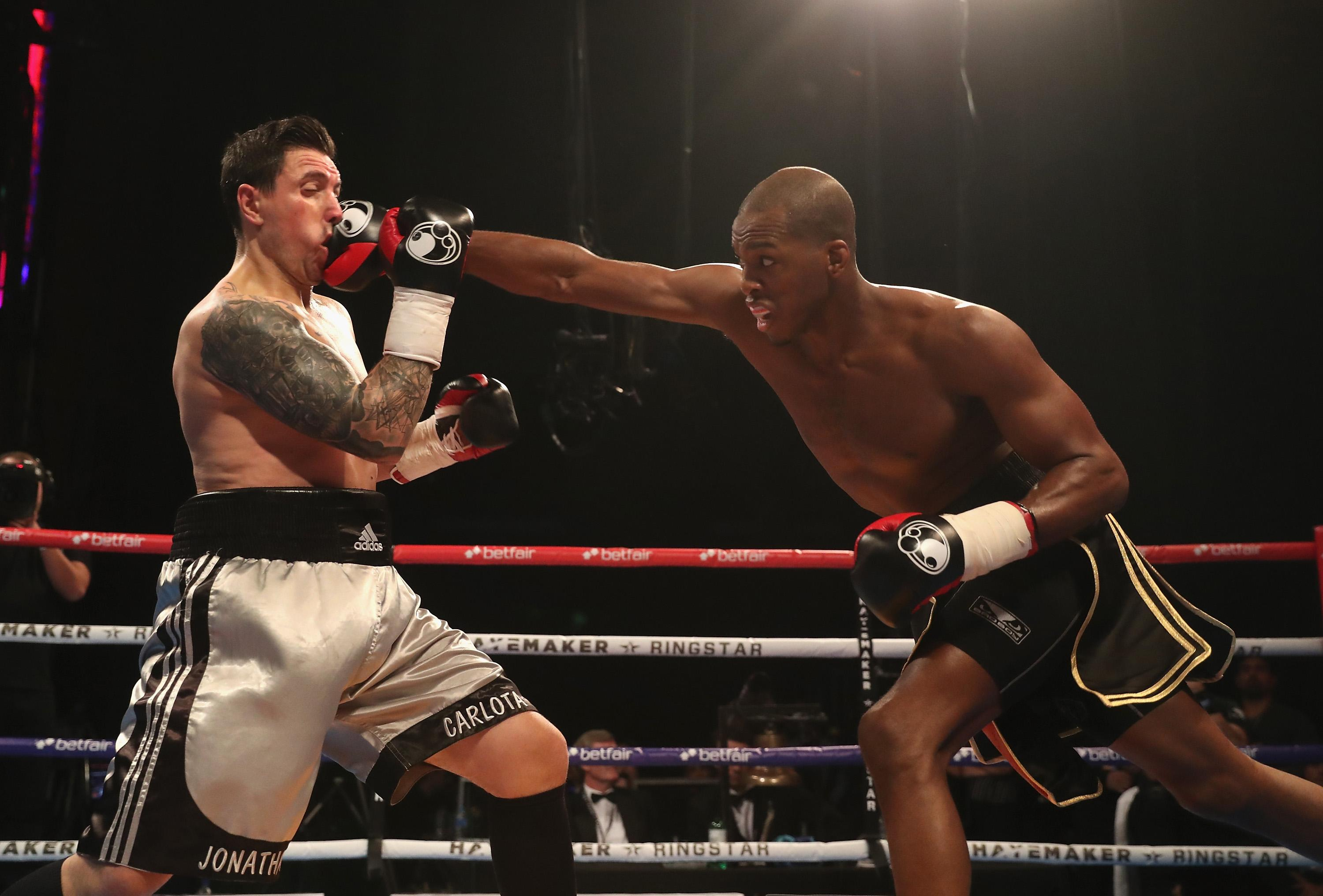 Boxing and MMA cross-over star Michael 'Venom' Page is part of the show