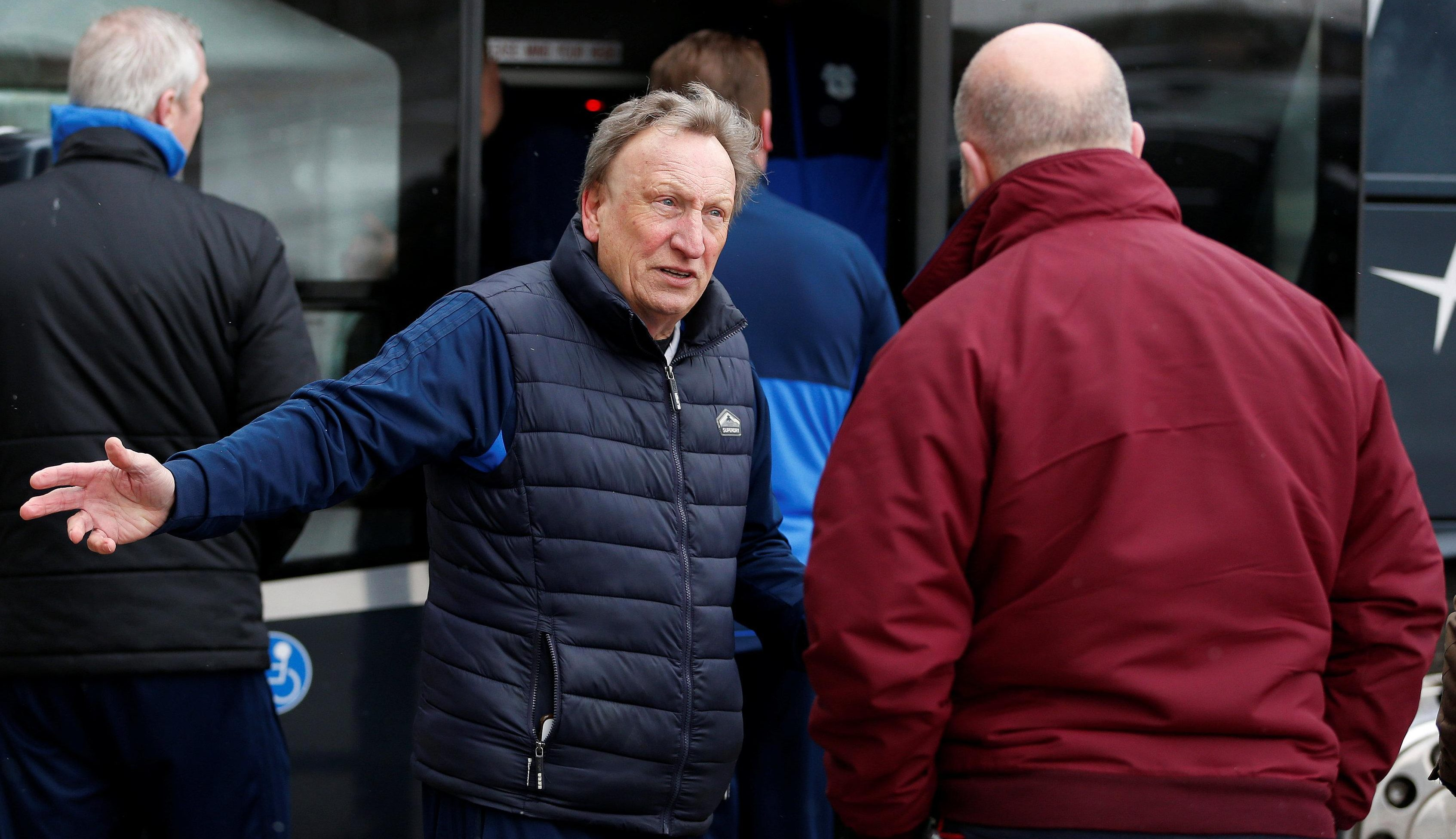 But Warnock was still very annoyed the game was called off