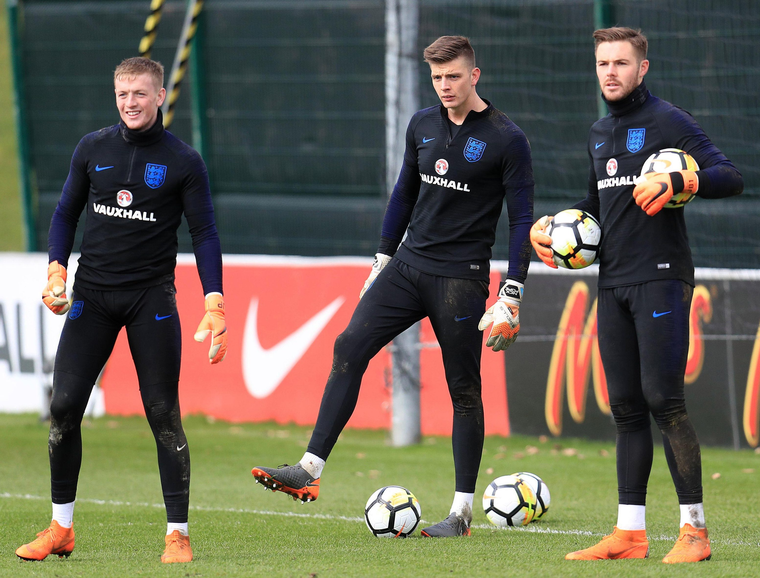 Nick Pope is hoping to upstage fellow keeper contenders Jordan Pickford and Jack Butland if he gets the chance in the two England friendlies