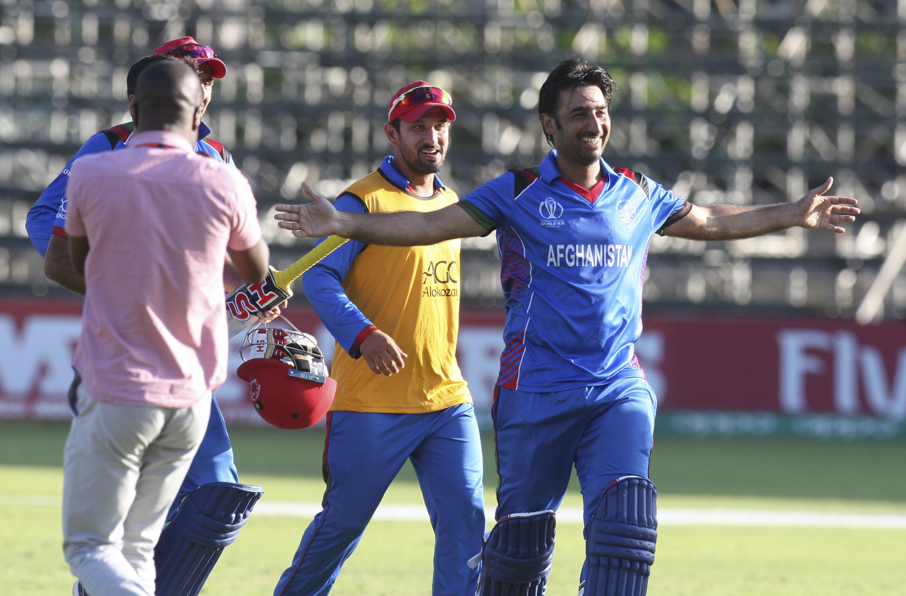 Afghanistan join West Indies in making it through a tough qualifying round