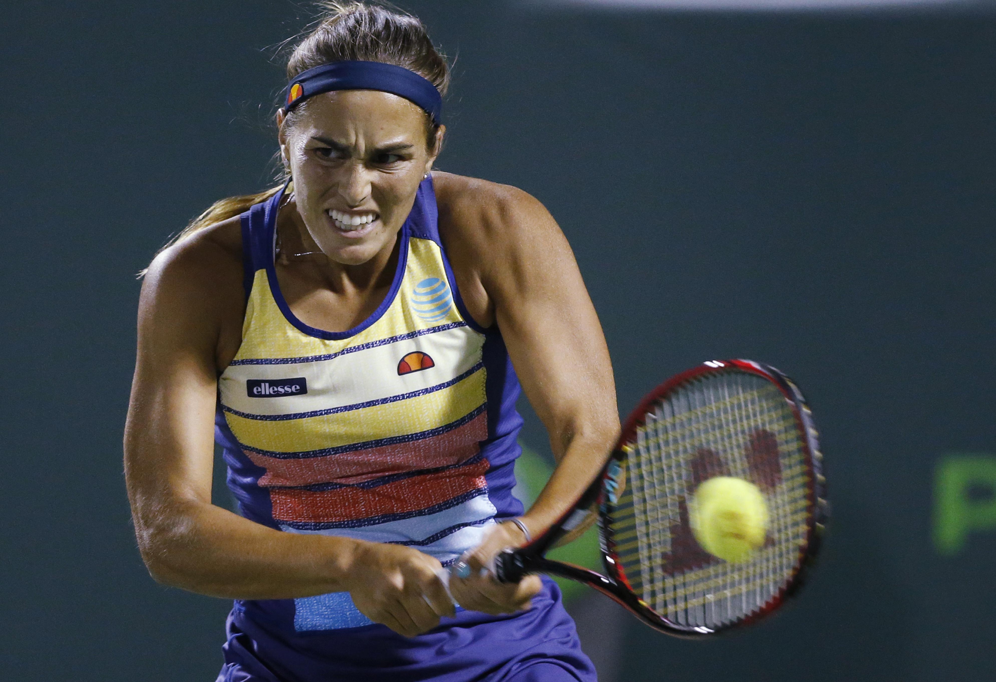 Caroline Wozniacki lost to Monica Puig