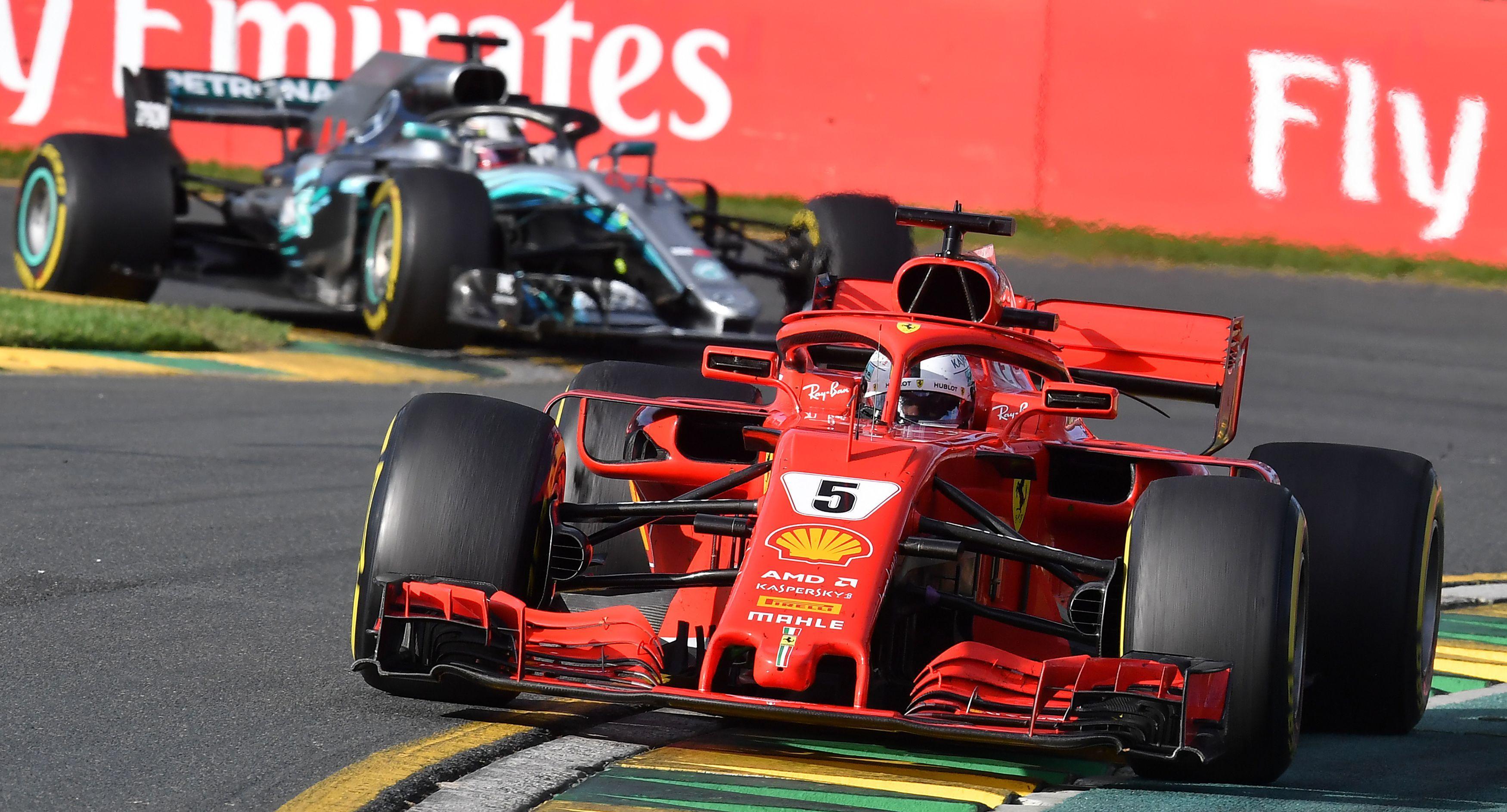 Sebastian Vettel took full advantage of Mercedes' blunder to win the first race of the season