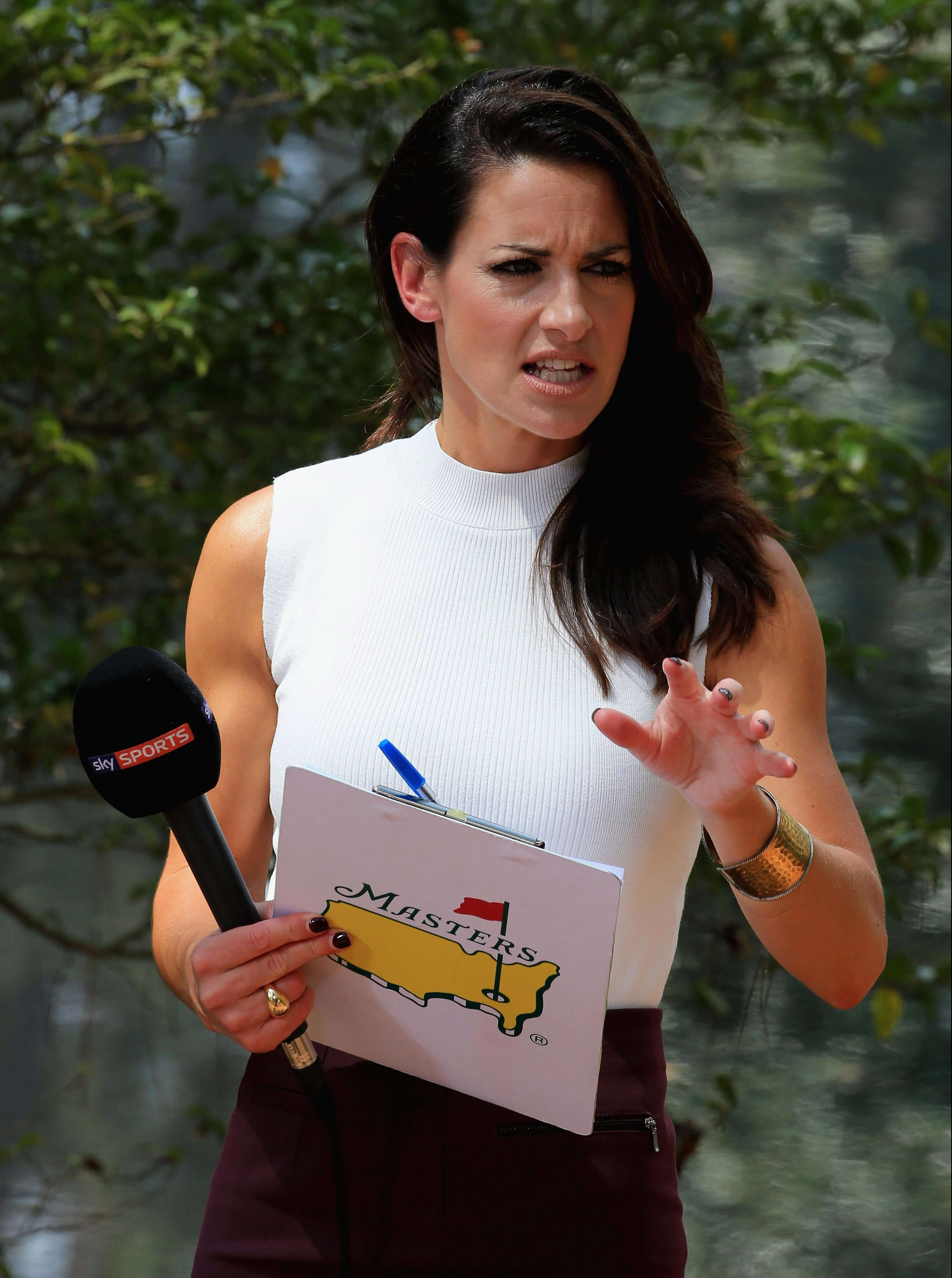 Kirsty Gallacher has been dropped from Skys Masters coverage for the second year in a row