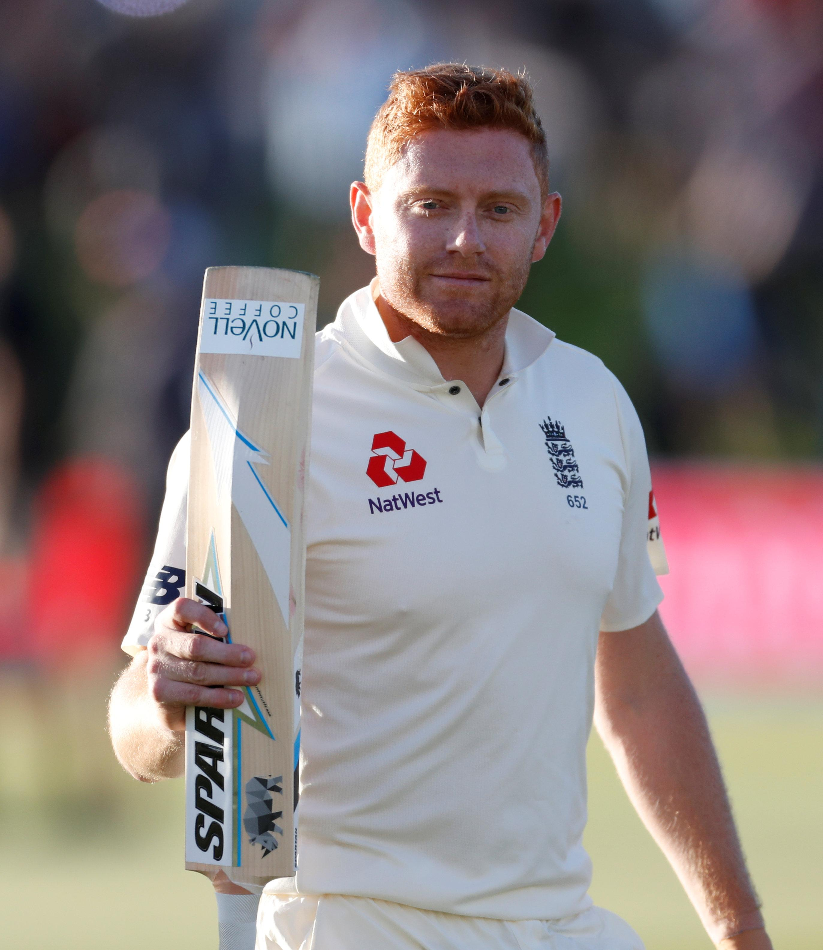 Jonny Bairstow scored two Test centuries for England during the winter