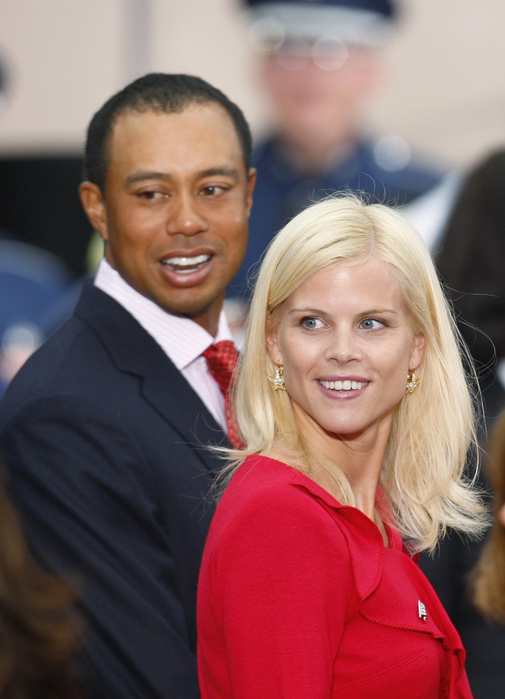 Tiger Woods and Elin Nordegren divorced in 2010