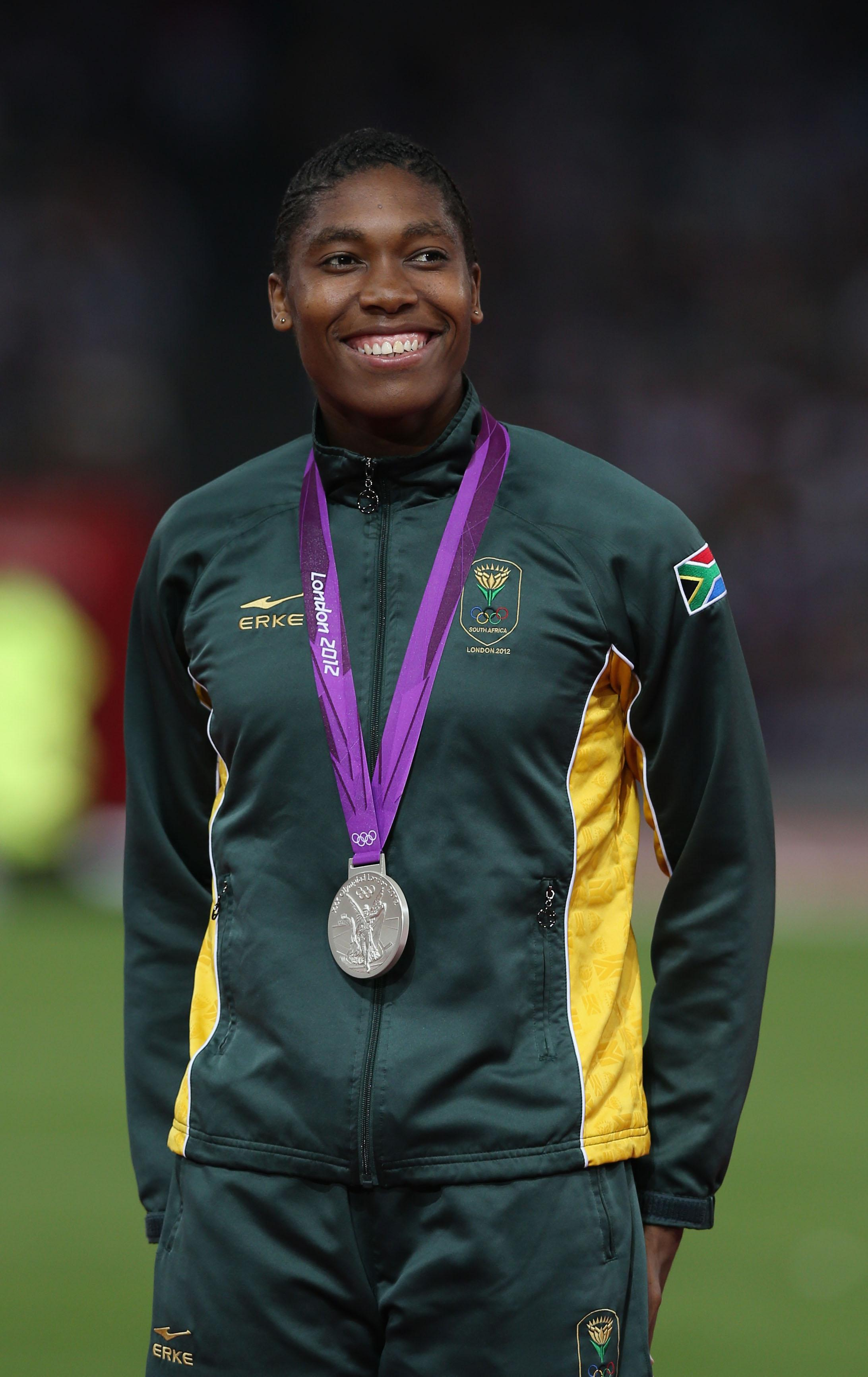 The new rules on testosterone levels only cover the distances Caster Semenya competes in