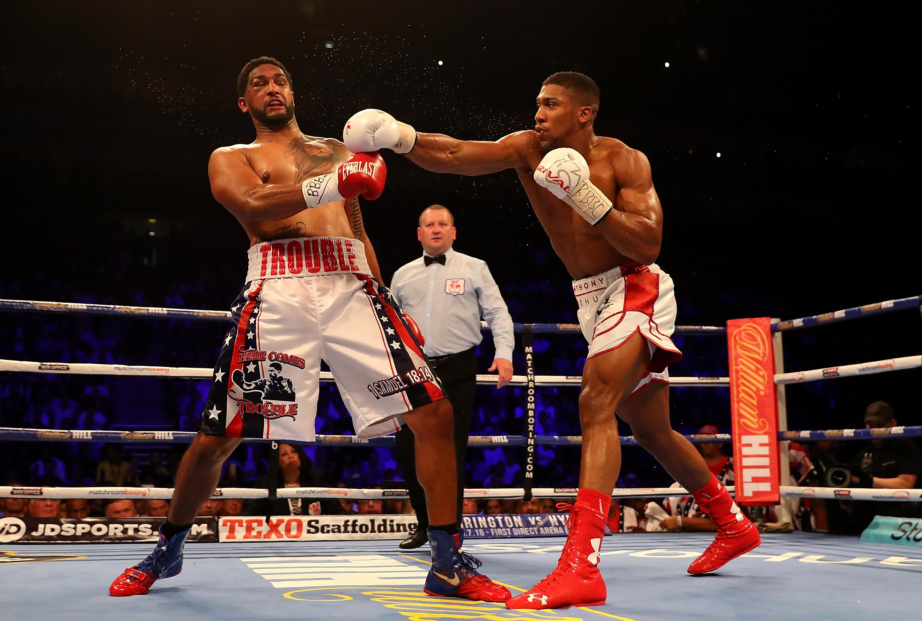 Anthony Joshua delivered a seventh-round KO of Dominic Breazeale, and it's the latter who could fight Deontay Wilder next