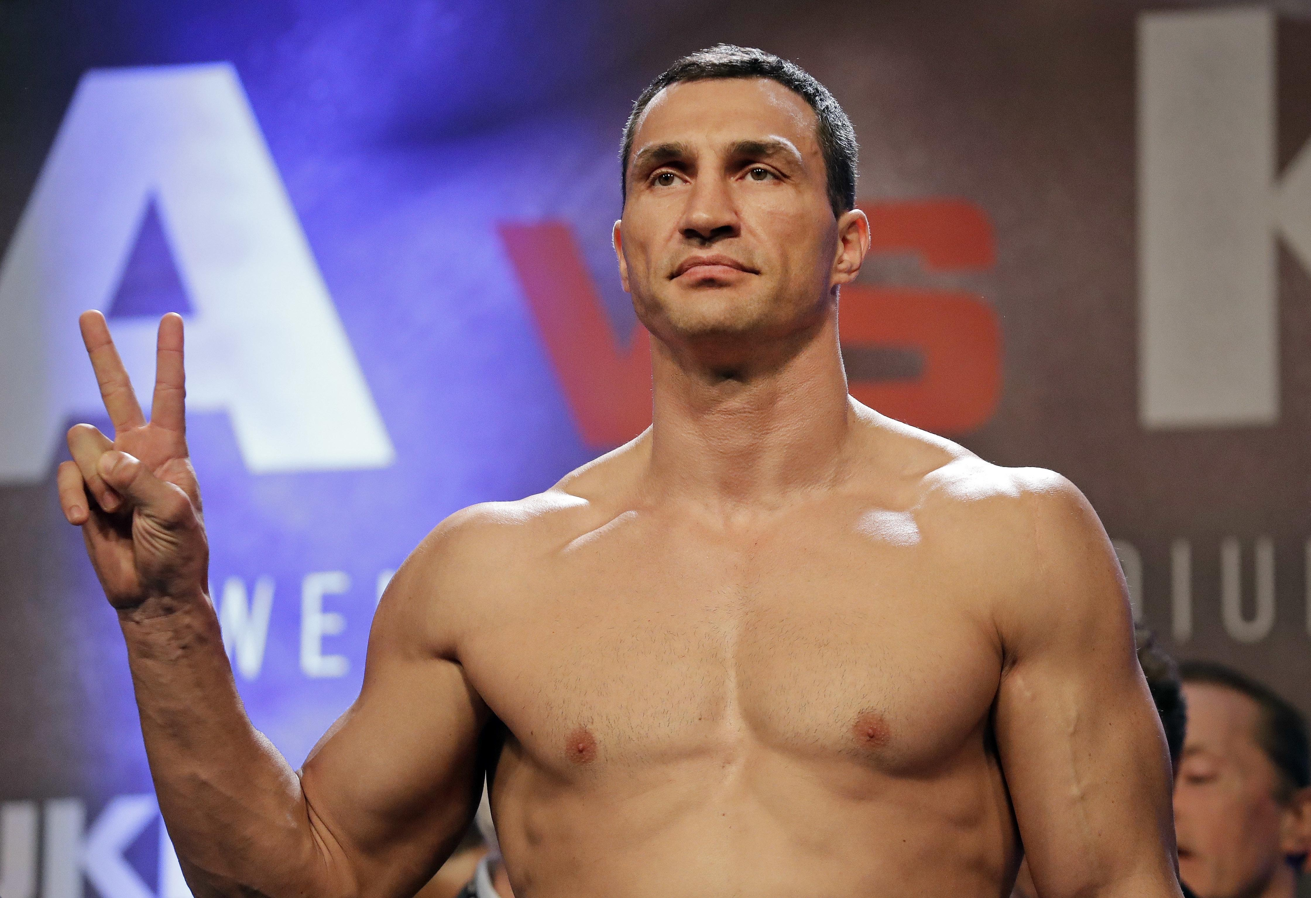The Ukrainian is convinced Anthony Joshua will beat Tyson Fury