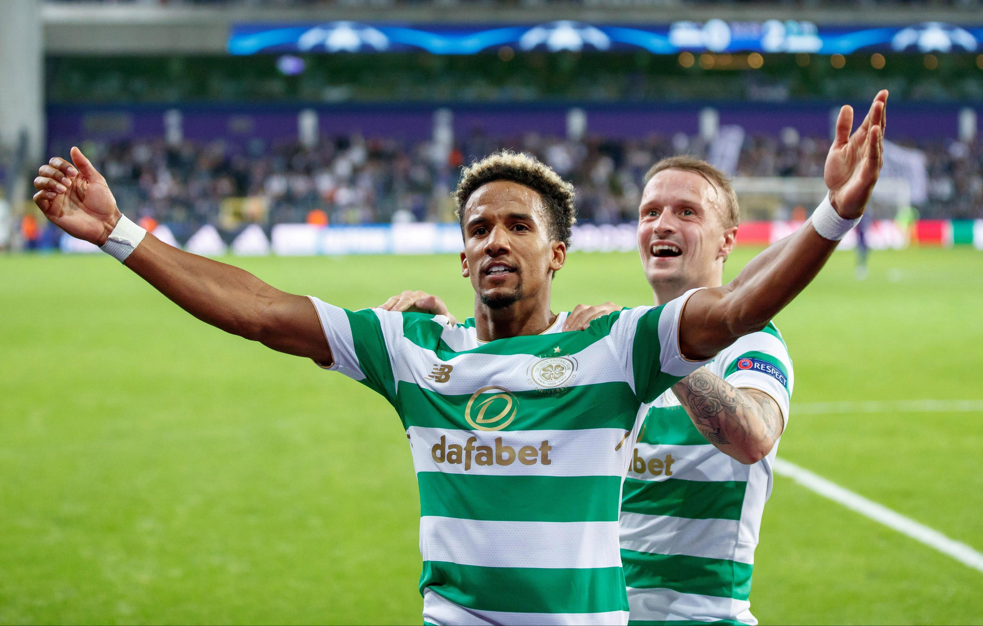 Scott Sinclair has helped Celtic to their seventh straight league title this season