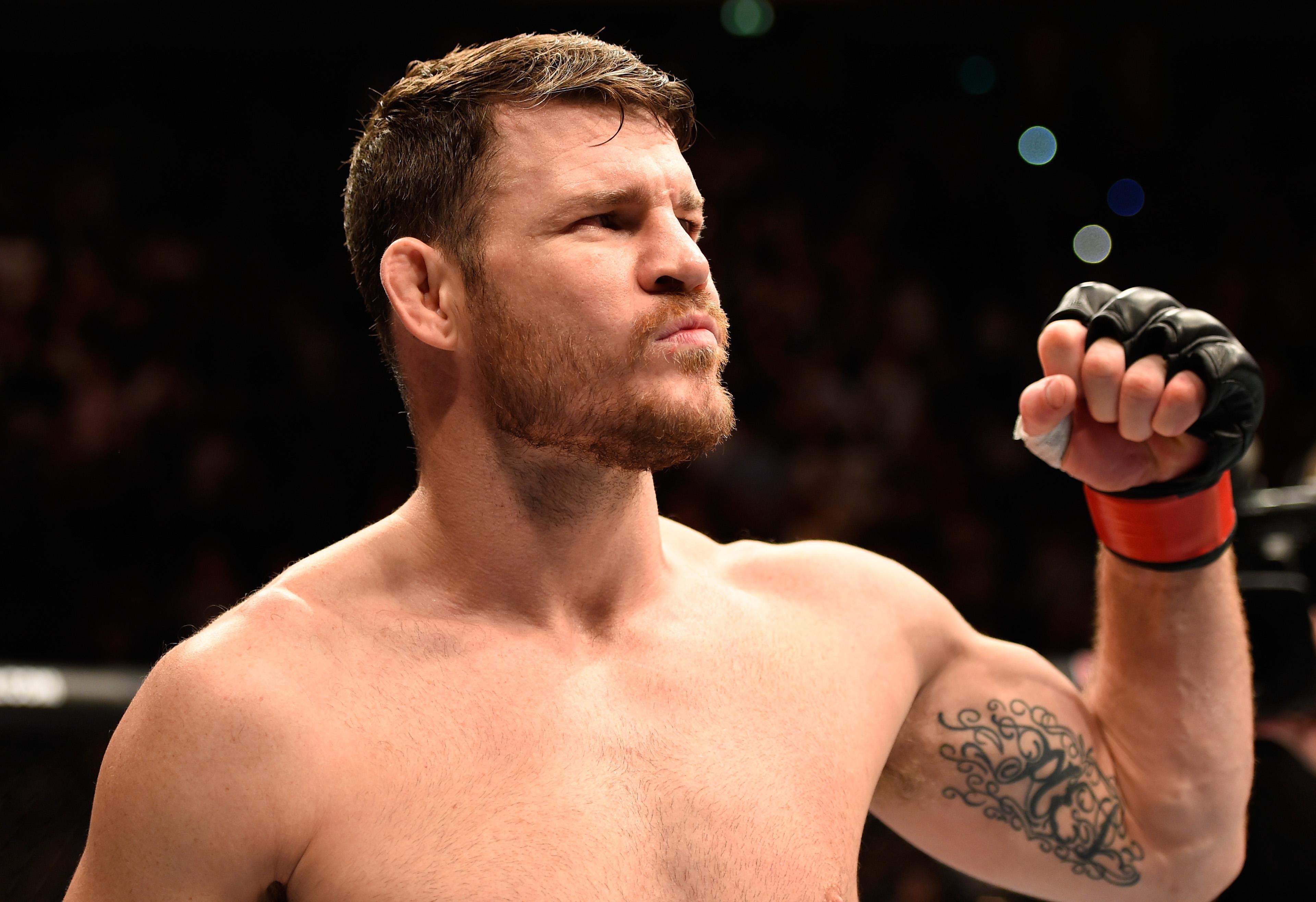British MMA legend Michael Bisping inspired Kevin Fryer