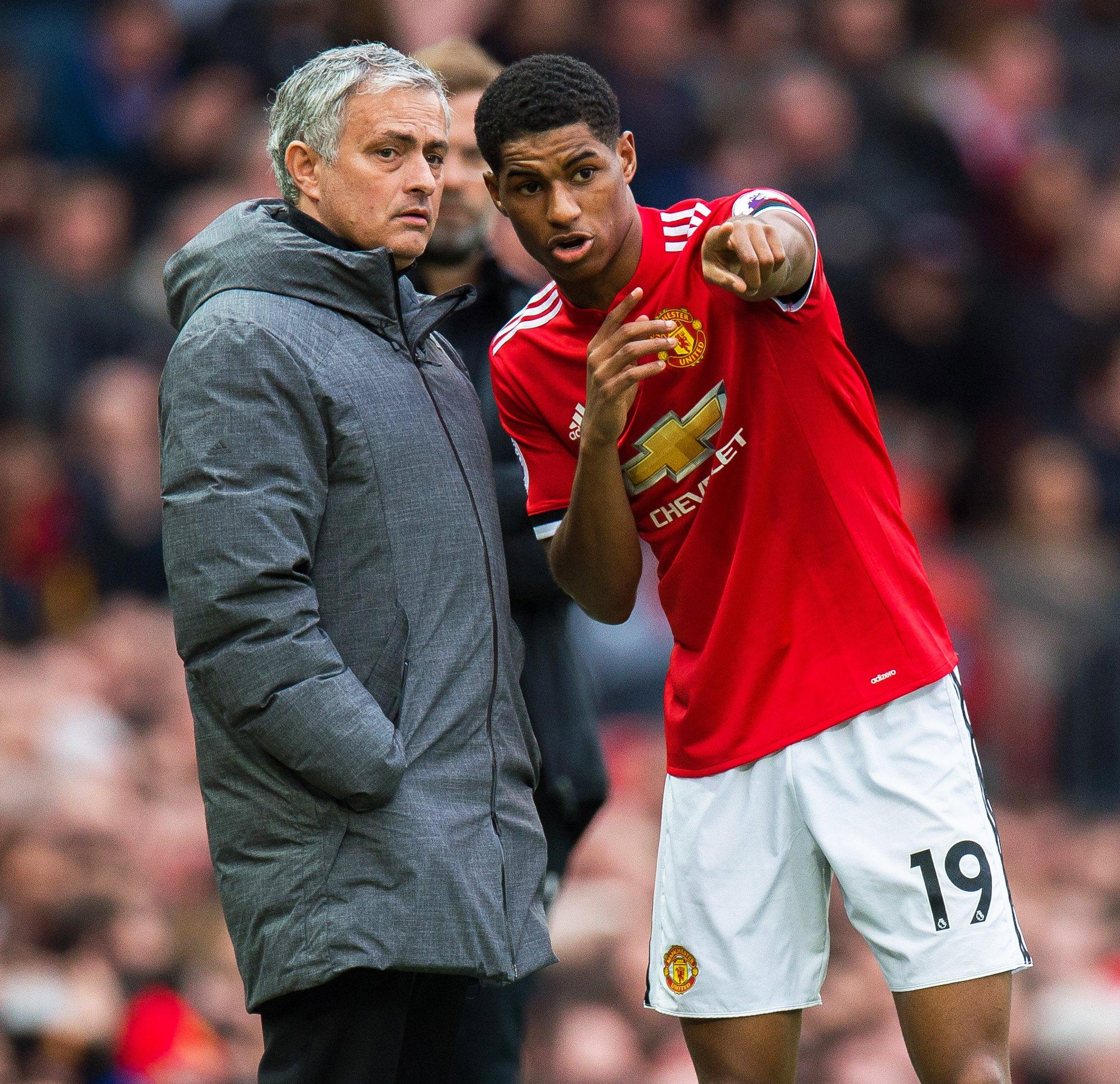 It has been claimed Marcus Rashford is considering leaving United if Jose Mourinho remains as boss