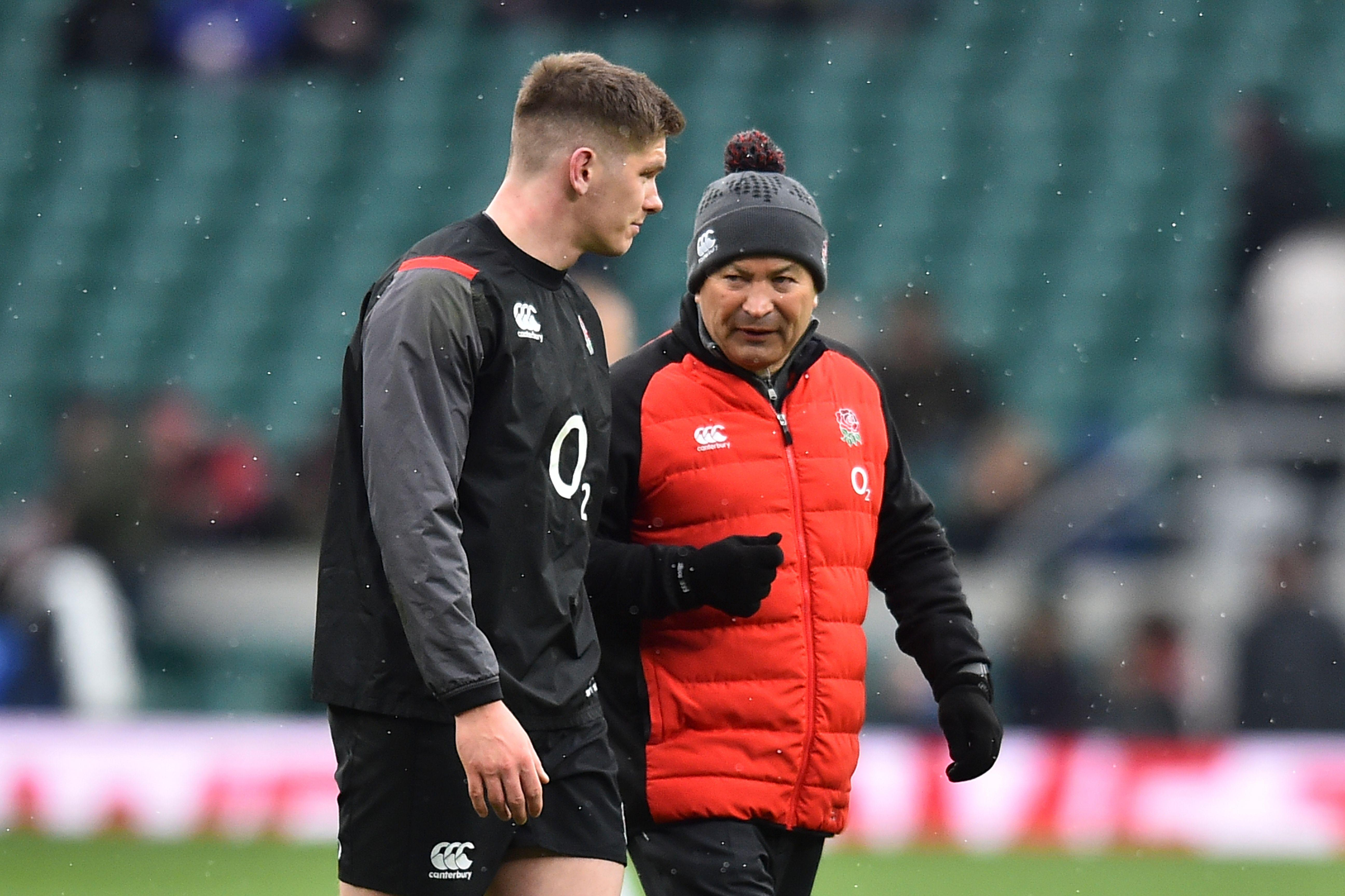 Eddie Jones has lost his battle over England's schedule at the World Cup next year