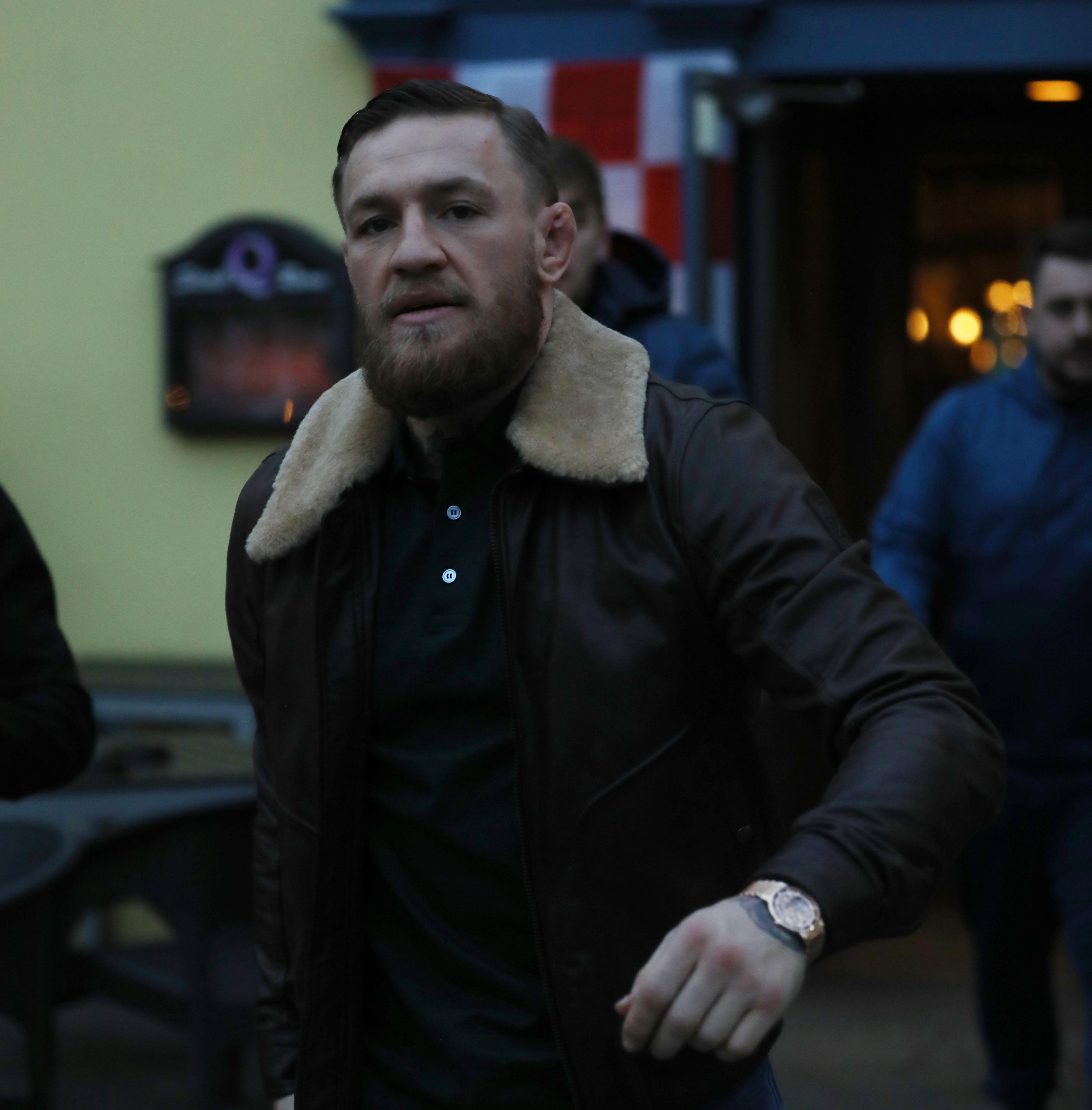 Conor McGregor has been enjoying some down-time in Dublin
