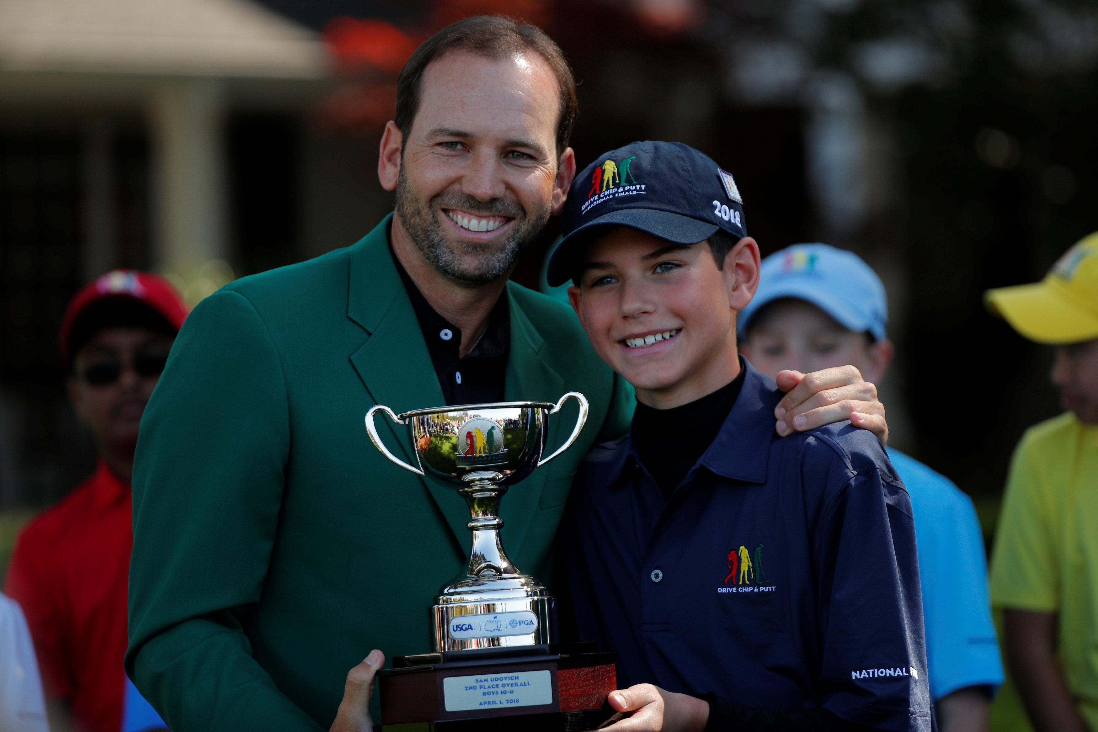 Sergio Garcia won his first ever major at The Masters 2017