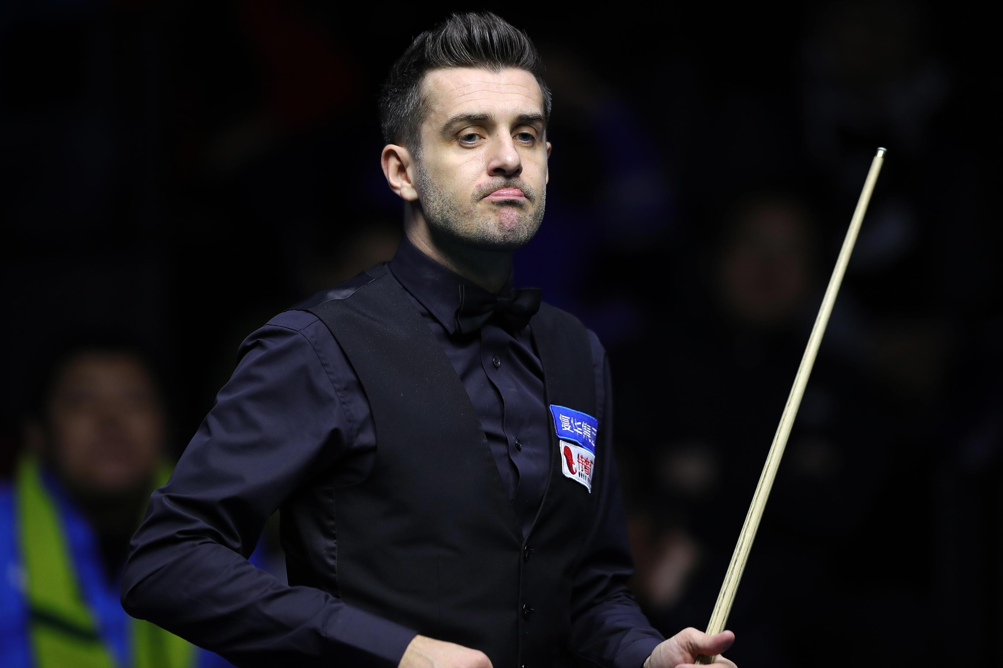 Selby will open the 2018 tournament with his match against Joe Perry on Saturday