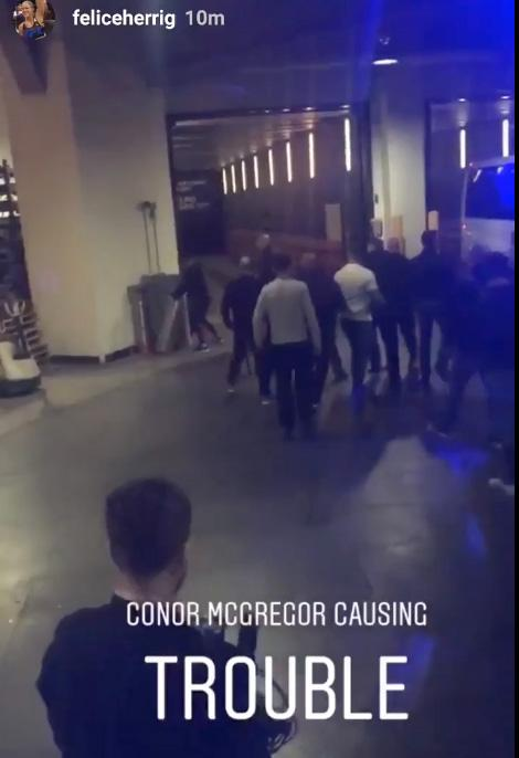 Several UFC fighter featuring on this weekend's card were believed to be in the bus that Conor McGregor tried to throw a gate at