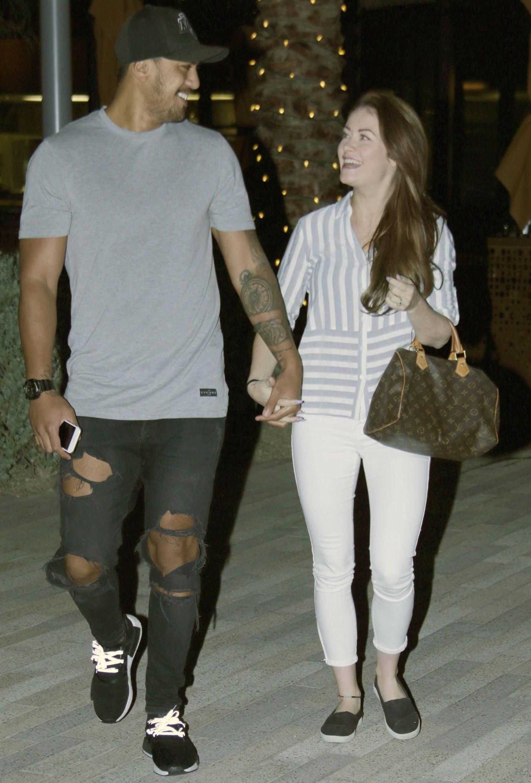 Denny Solomona and Jess Impiazzi were secretly married in Las Vegas