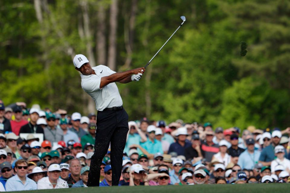 Tiger Woods has been the centre of attention after his return to Augusta