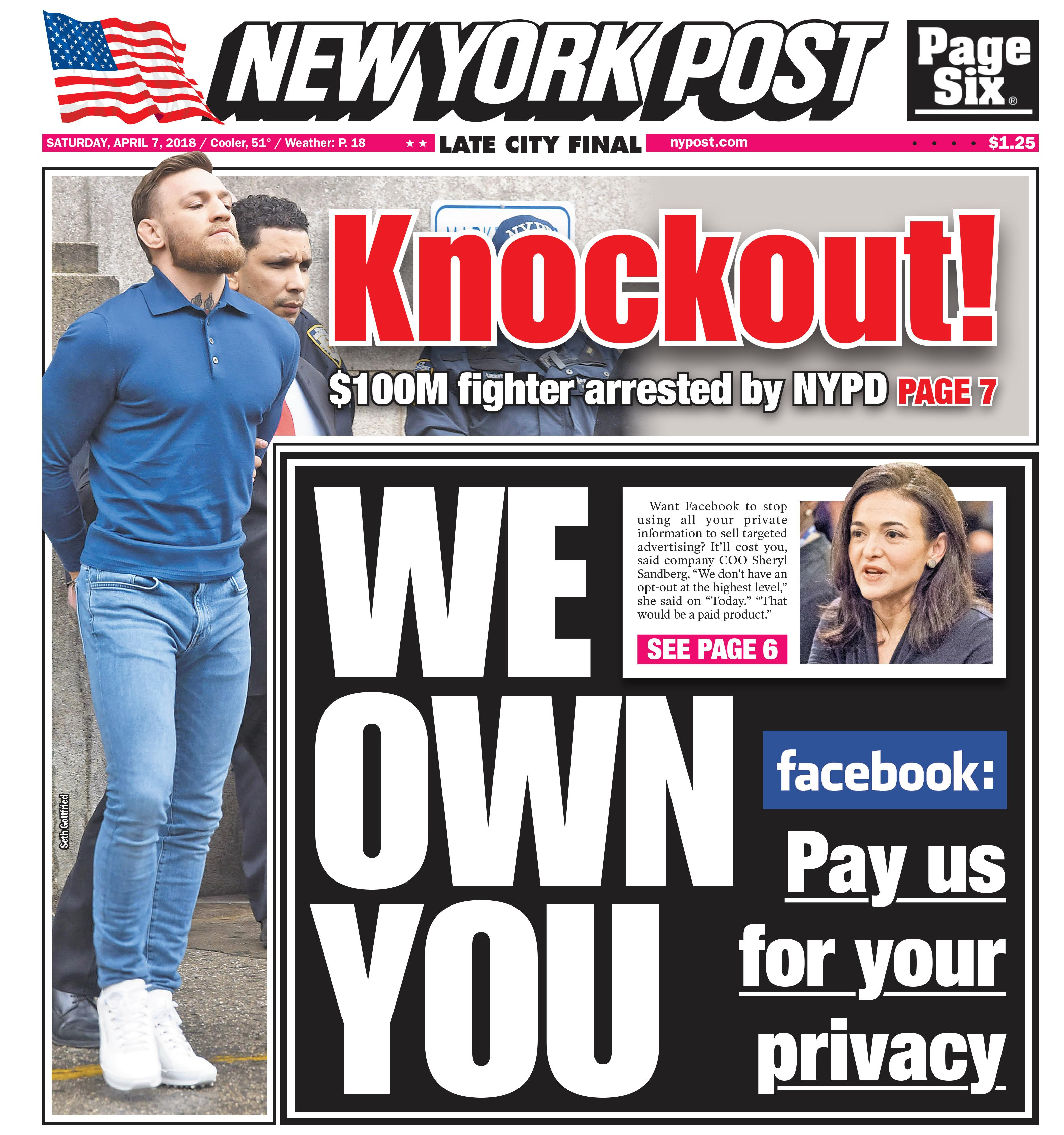 McGregor made headlines on both sides of the Atlantic for his antics in New York