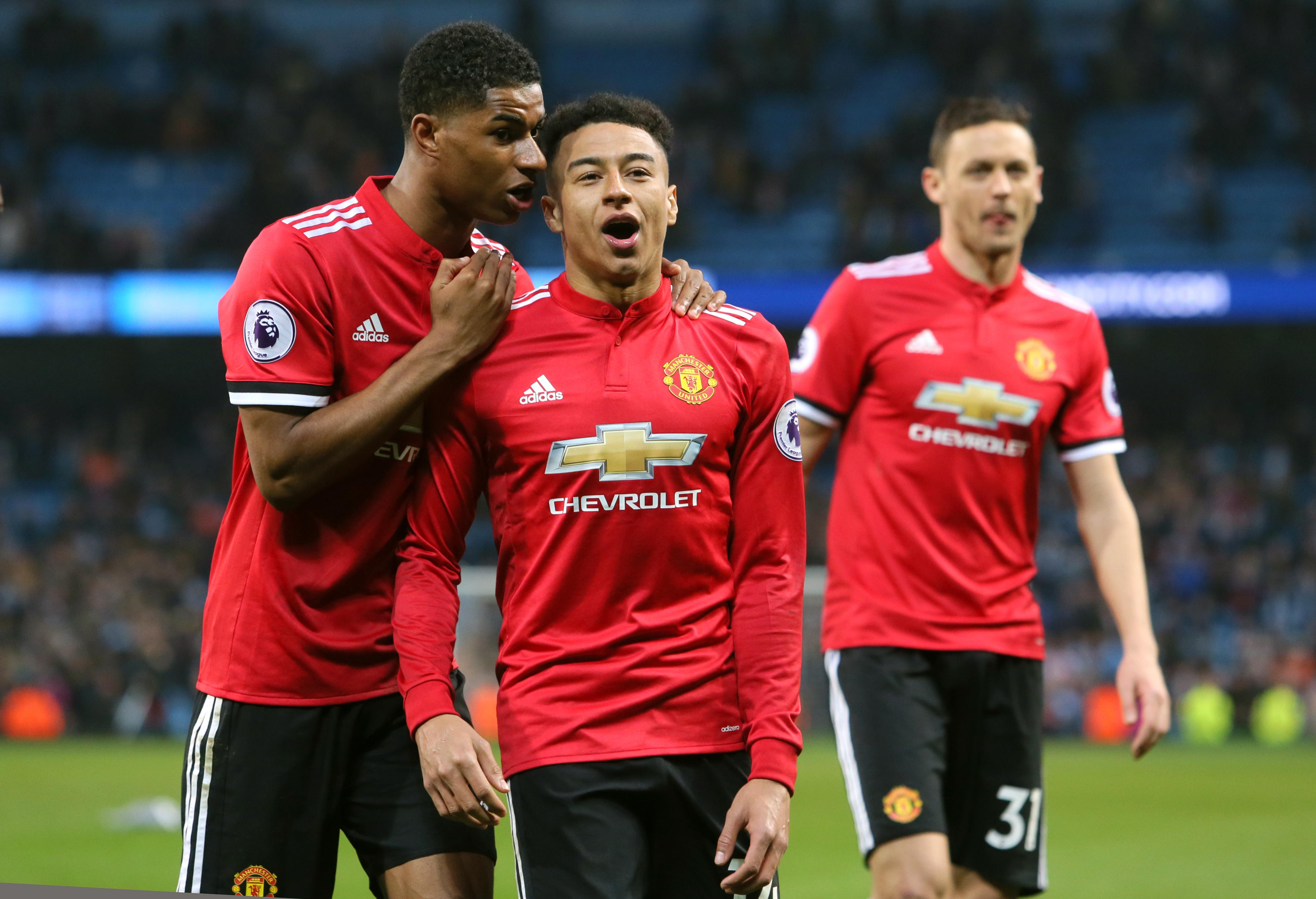 Rashford helped United beat City to rain on their title parade but only played eight minutes