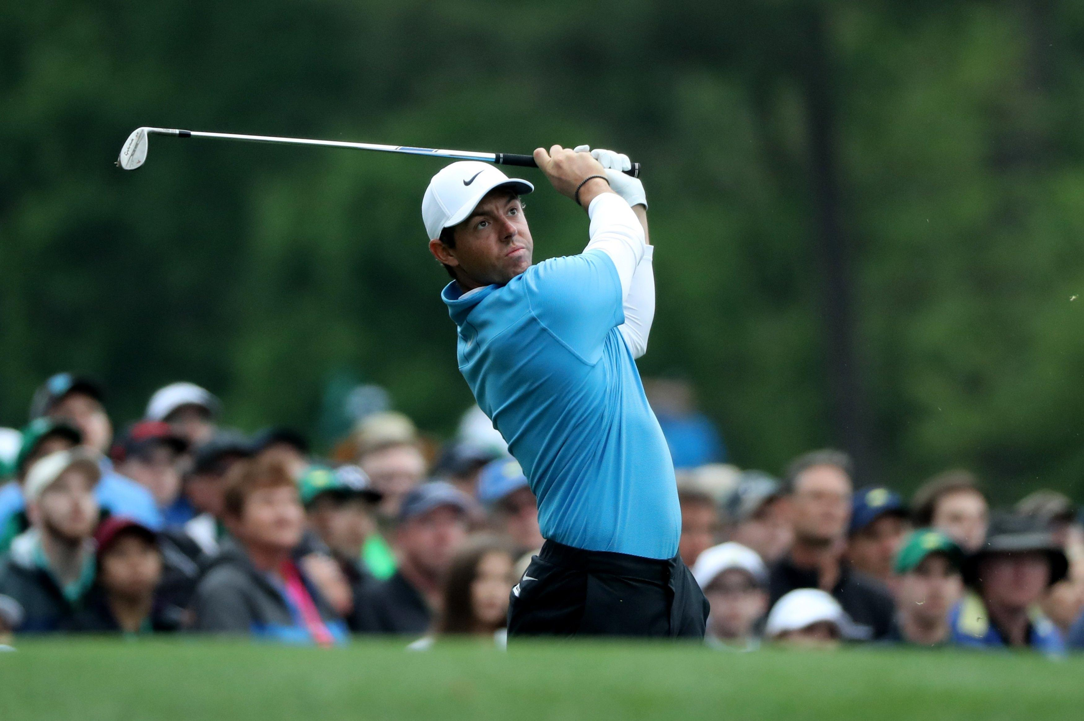 McIlroy is chasing a Masters win that would complete his set of Majors