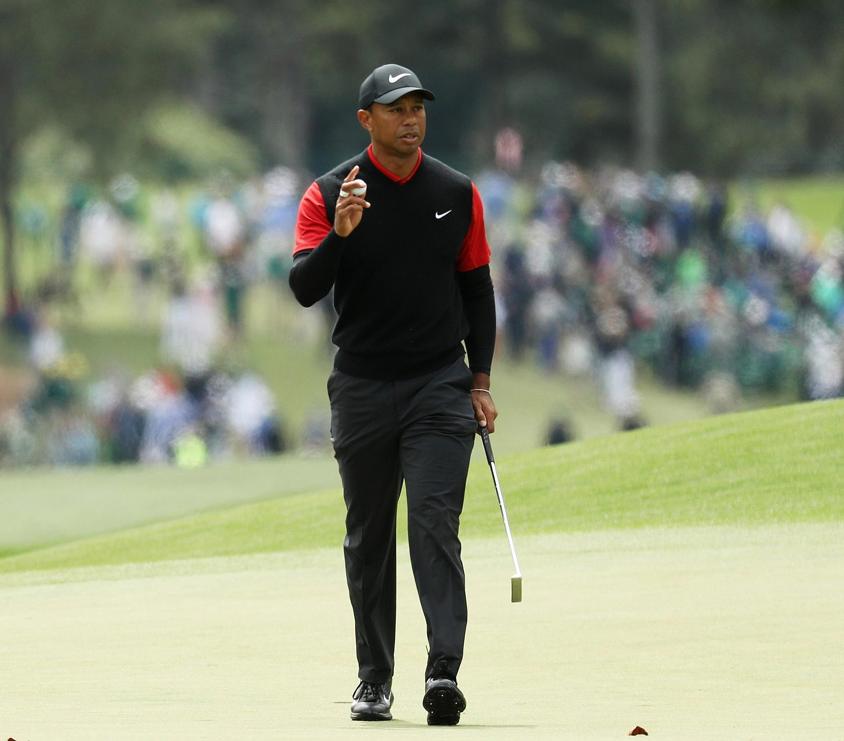 The former world No 1 fired his lowest round of the week on Sunday