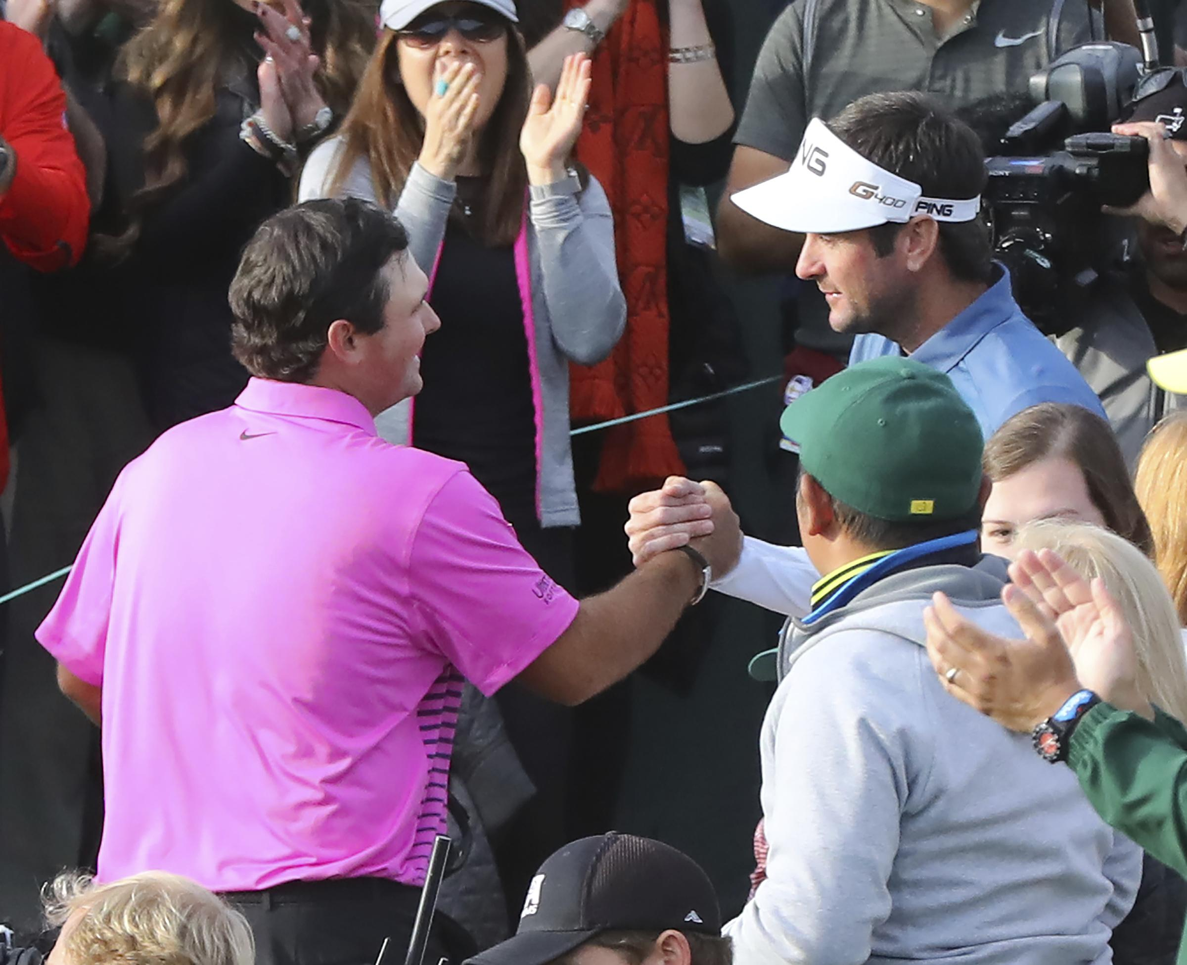 Bubba Watson was the first golfer to congratulate Patrick Reed after his Masters win