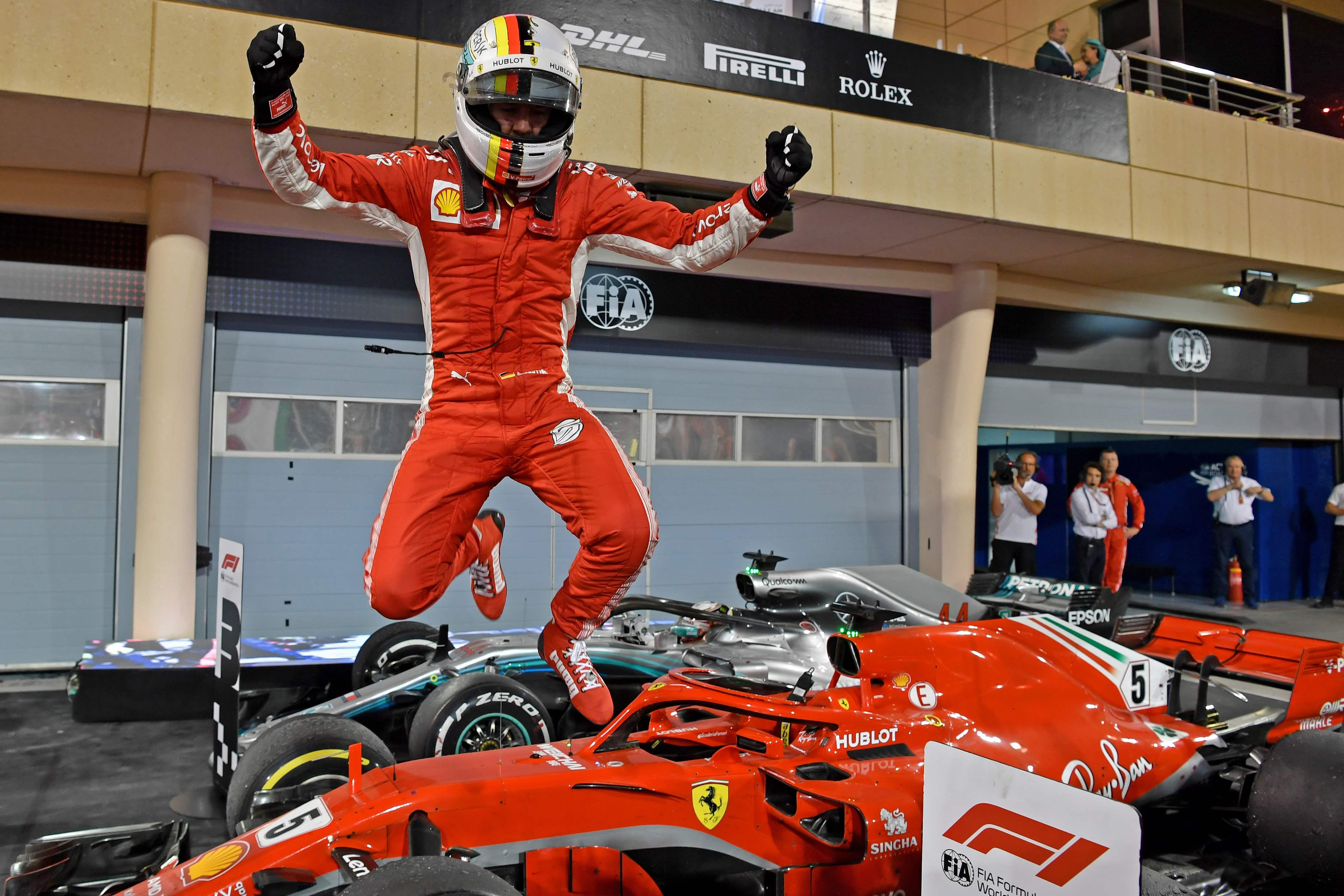 Sebastian Vettel is looking for his third win of the season after victory at the Bahrain Grand Prix