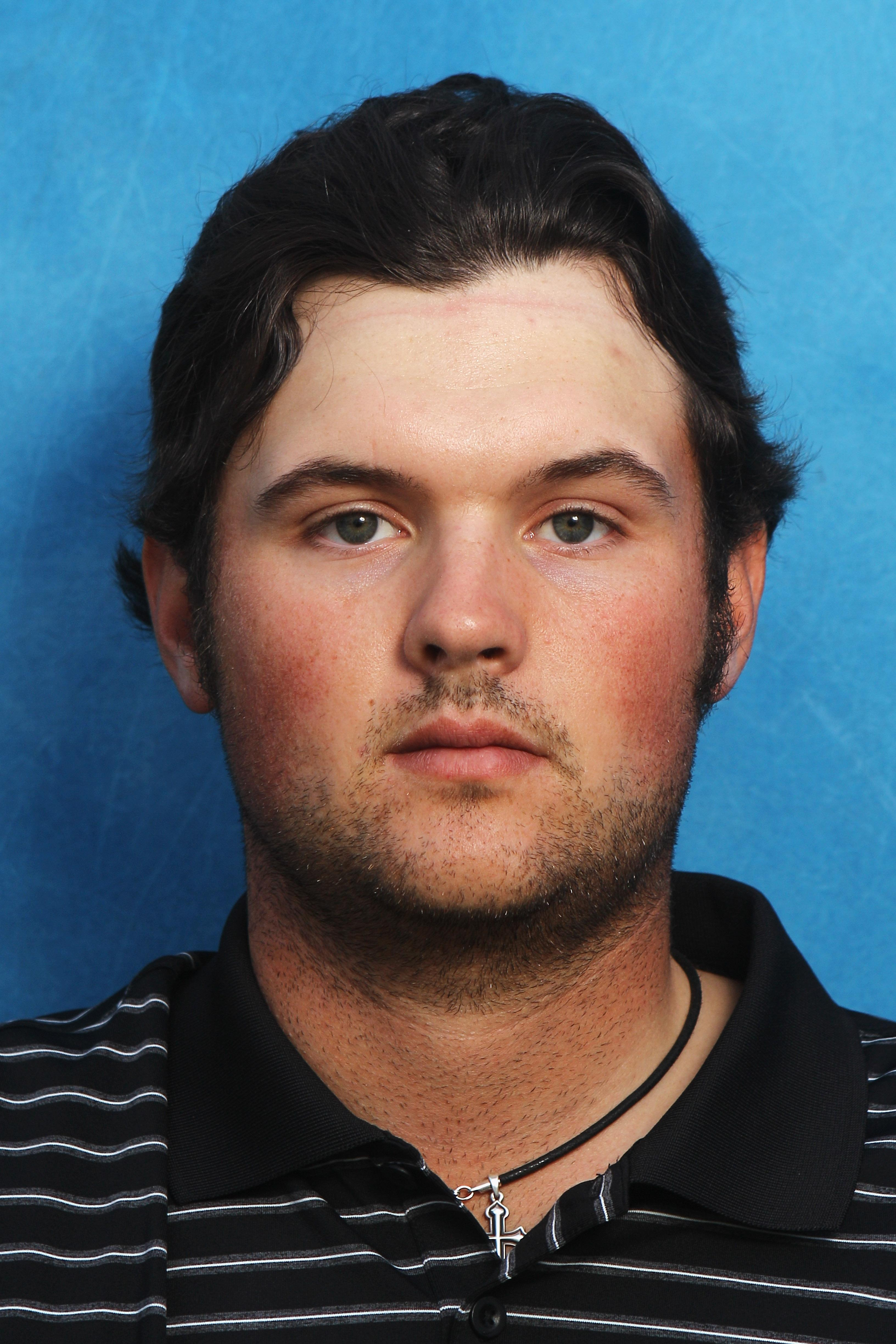 A headshot of Reed during his first season as a pro in 2011