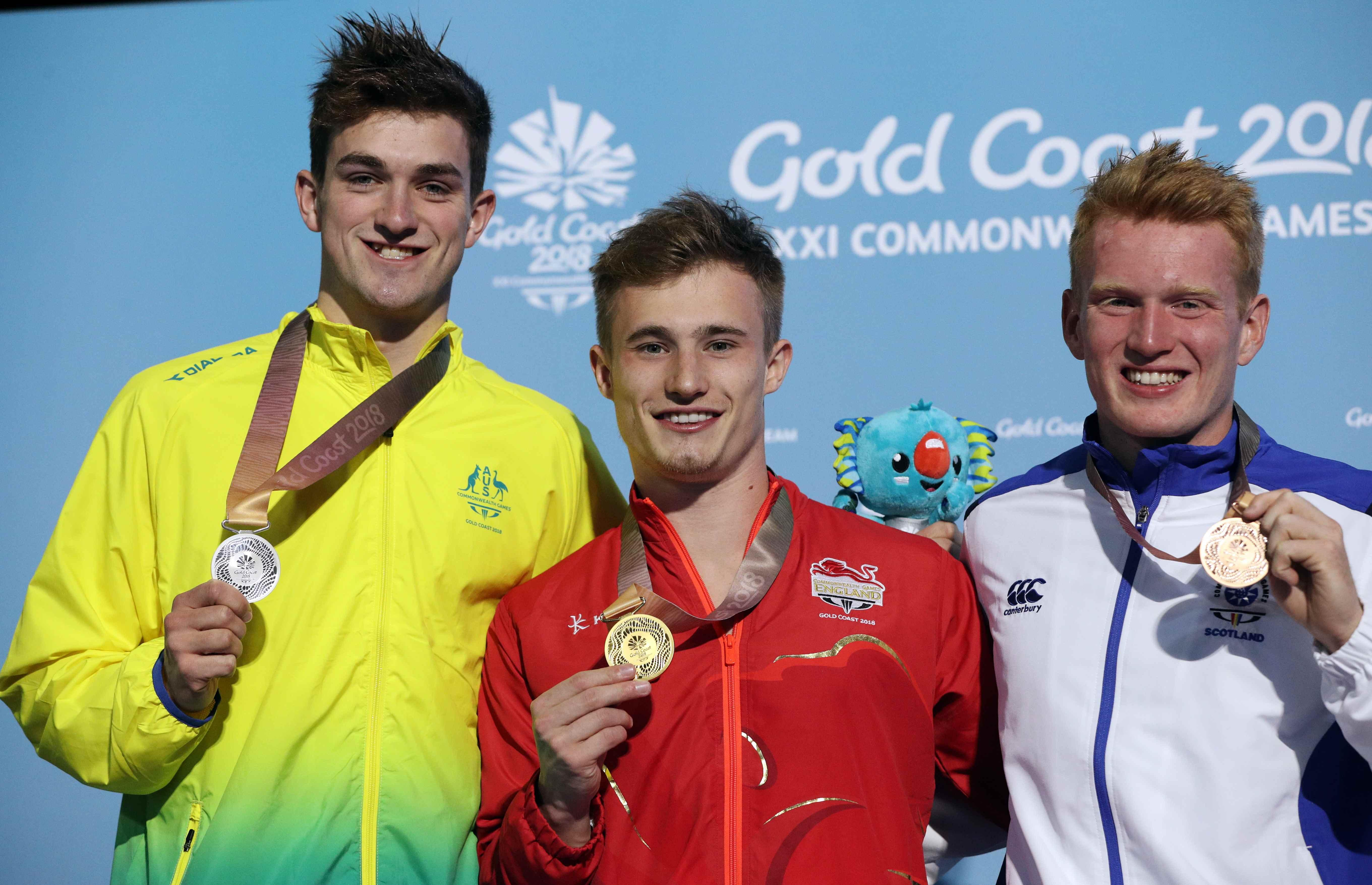 Jack Laugher retained his gold medal from Glasgow 2014