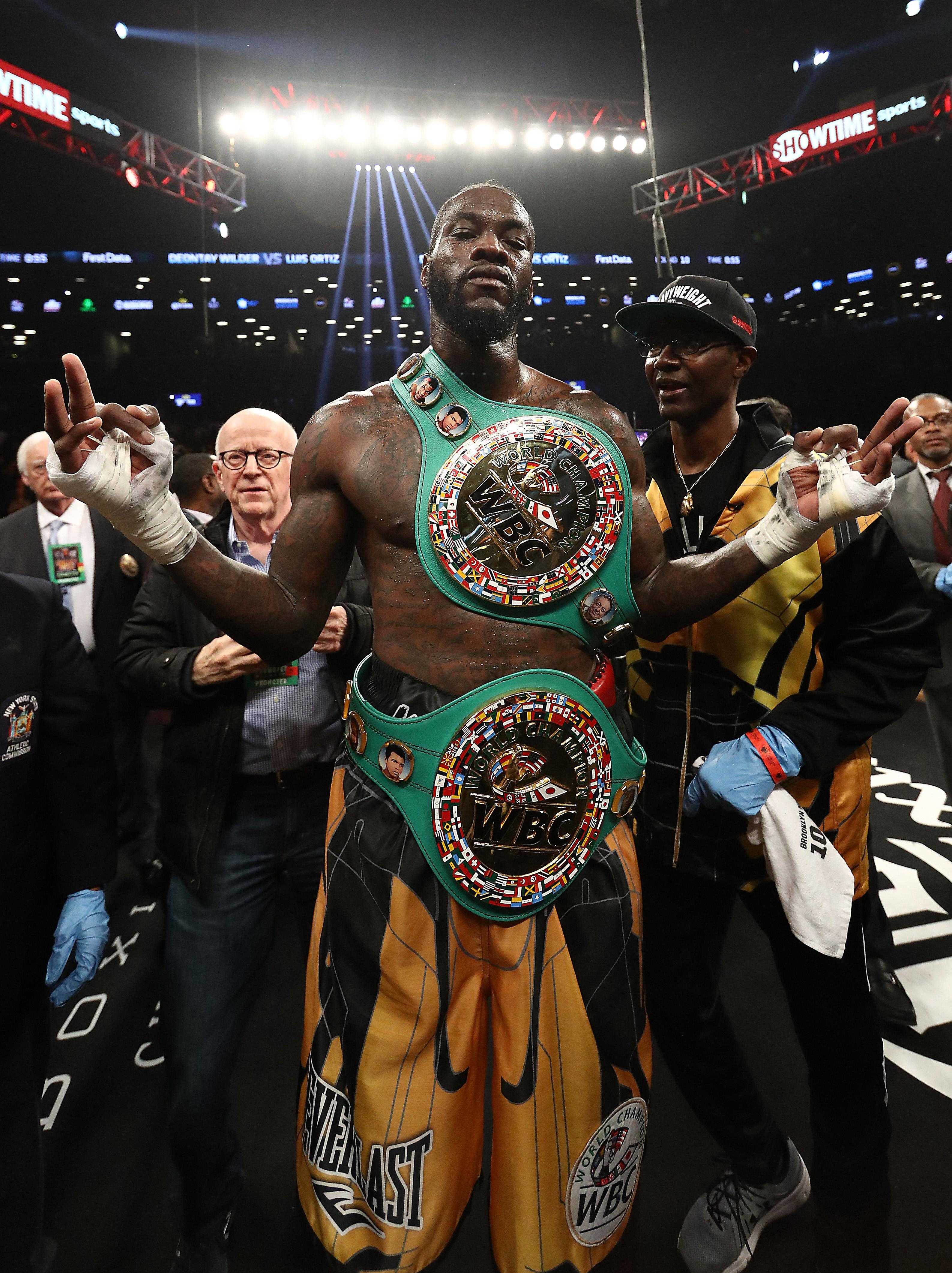 Deontay Wilder and Anthony Joshua are both unbeaten champions who boast a fearsome KO record