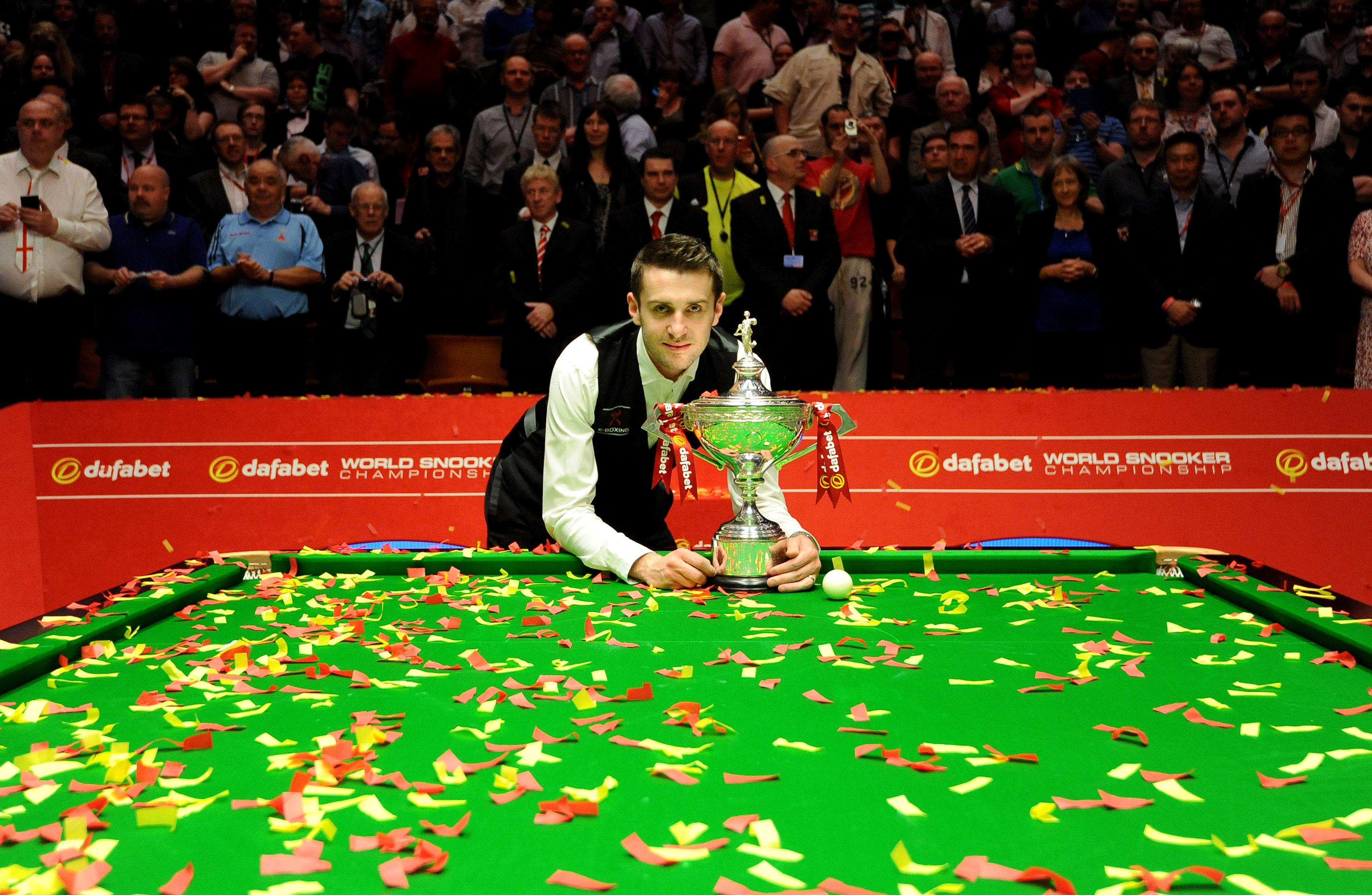 Mark Selby will be fighting to retain his title for the third year in a row