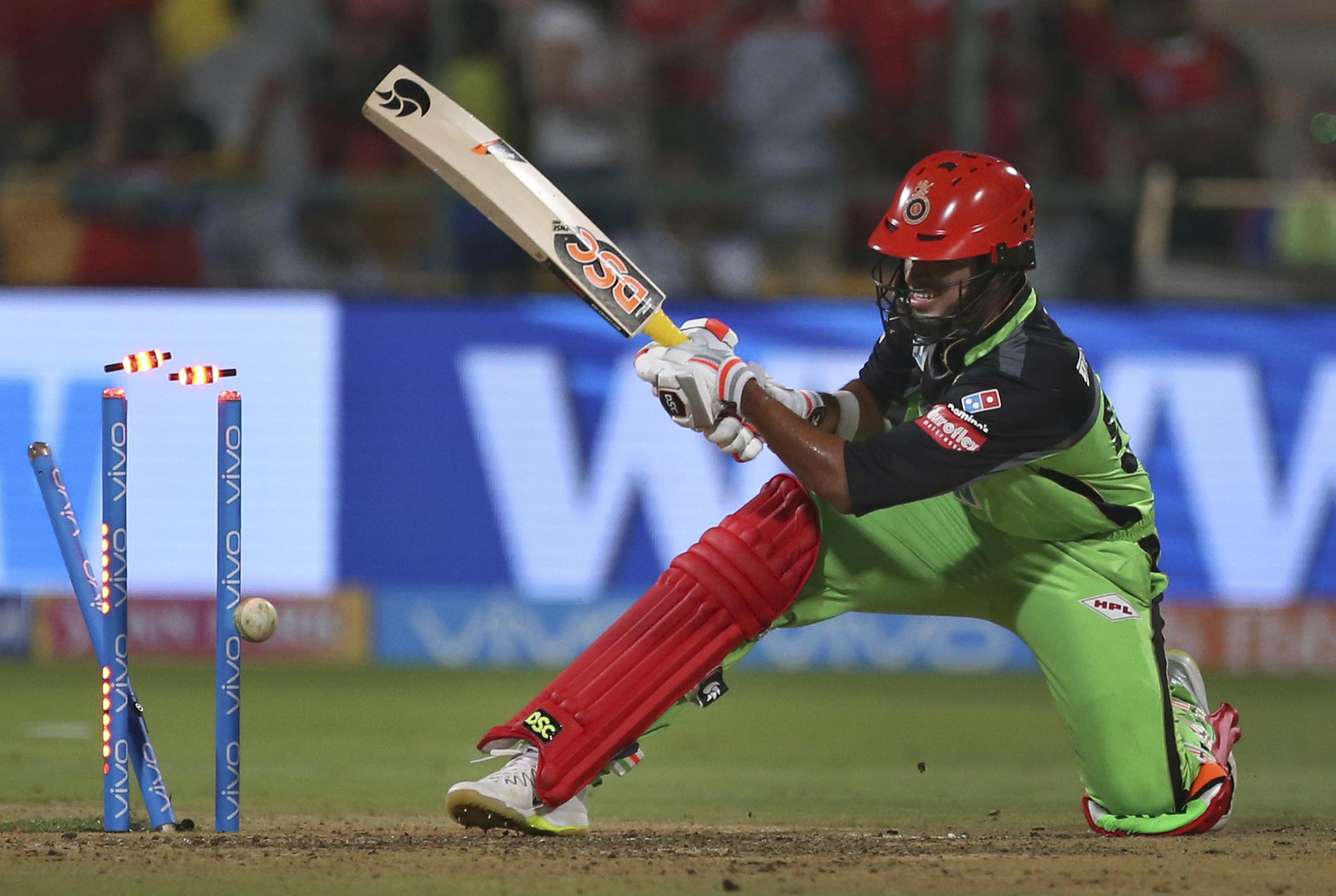RCB suffered a big defeat at home in their last outing in their green kit against Rajasthan