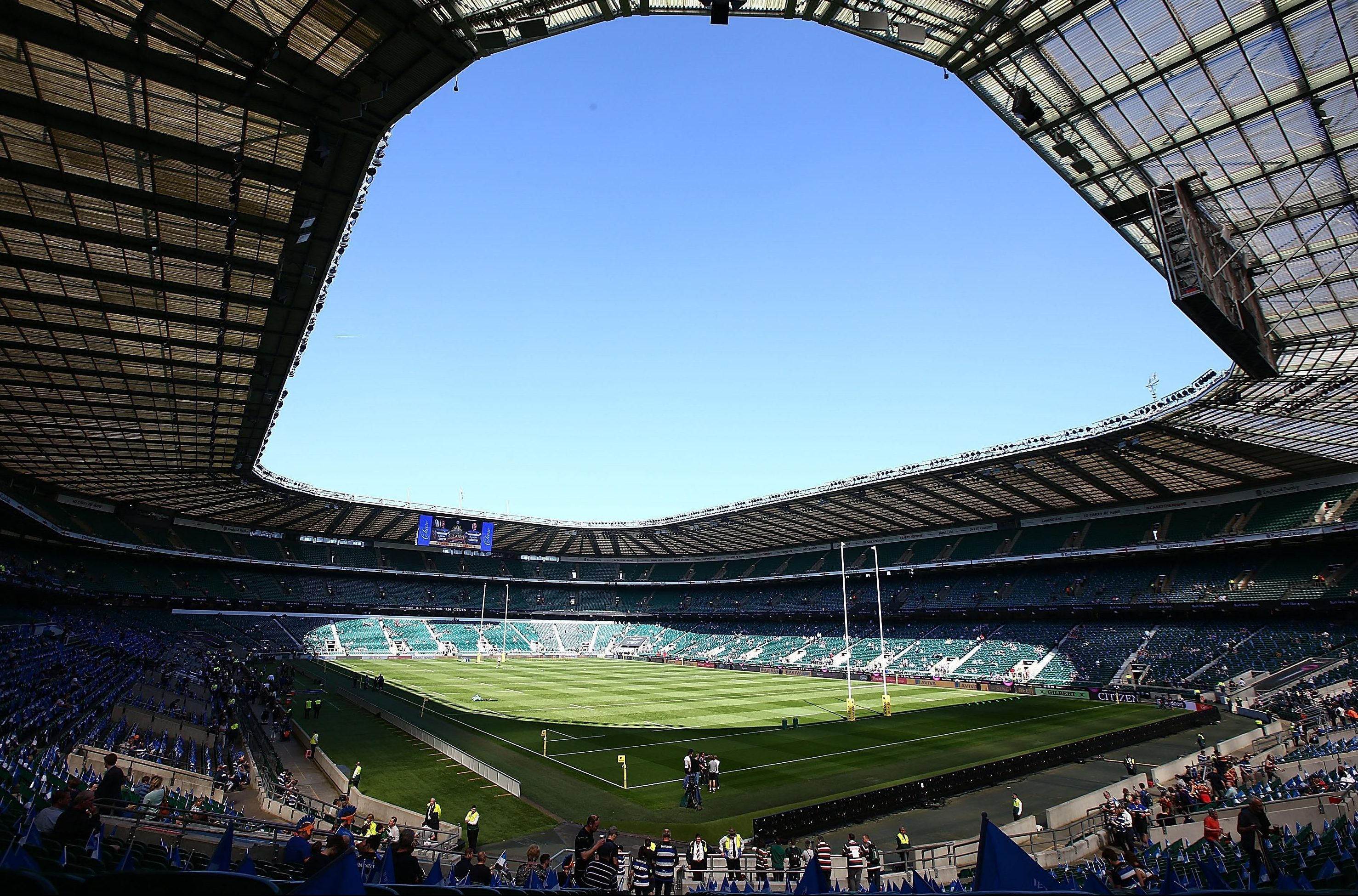 Twickenham is set for a radical change against the All Blacks with a booze ban