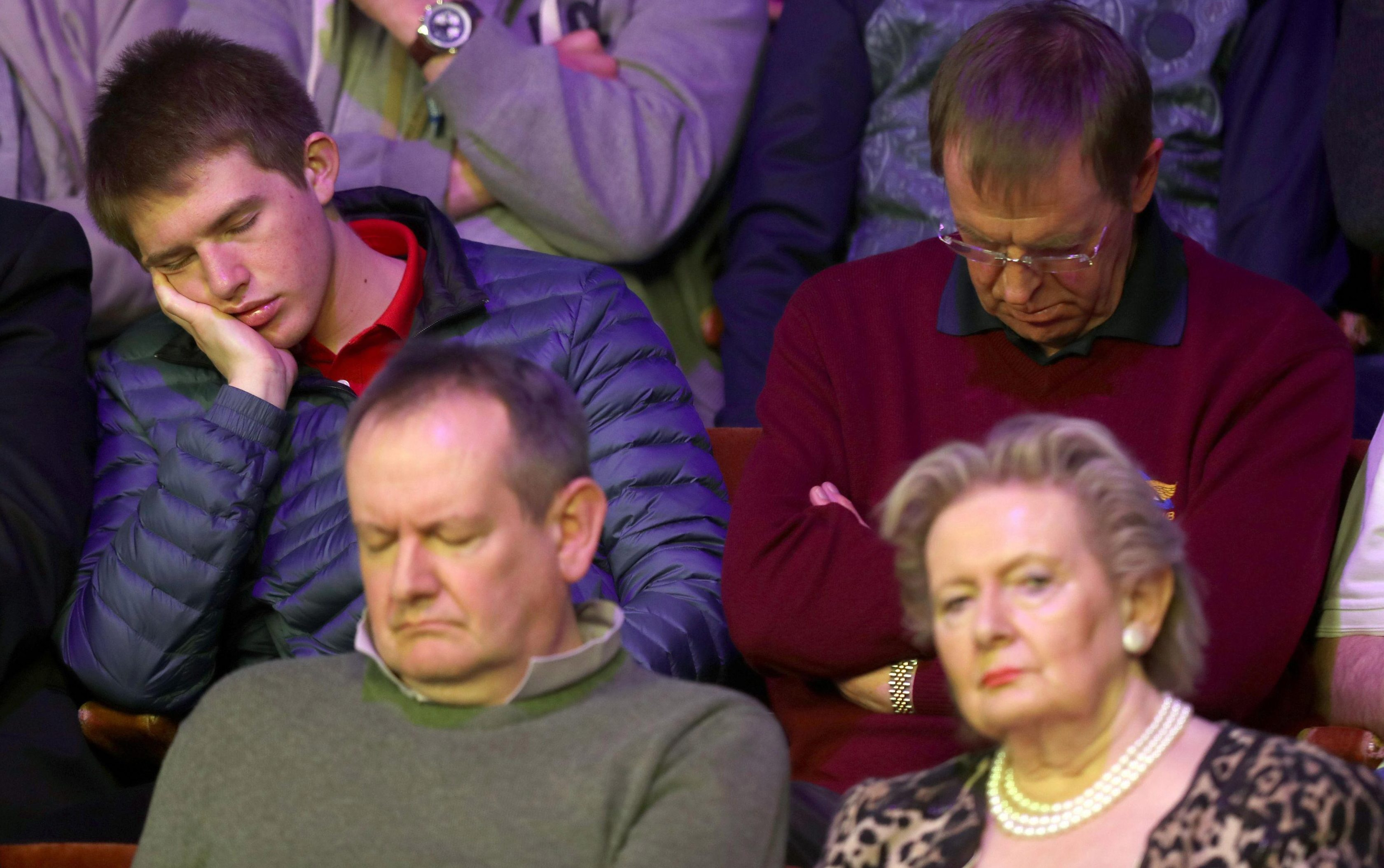 Crucible fans fell asleep on a dramatic day at the World Championship