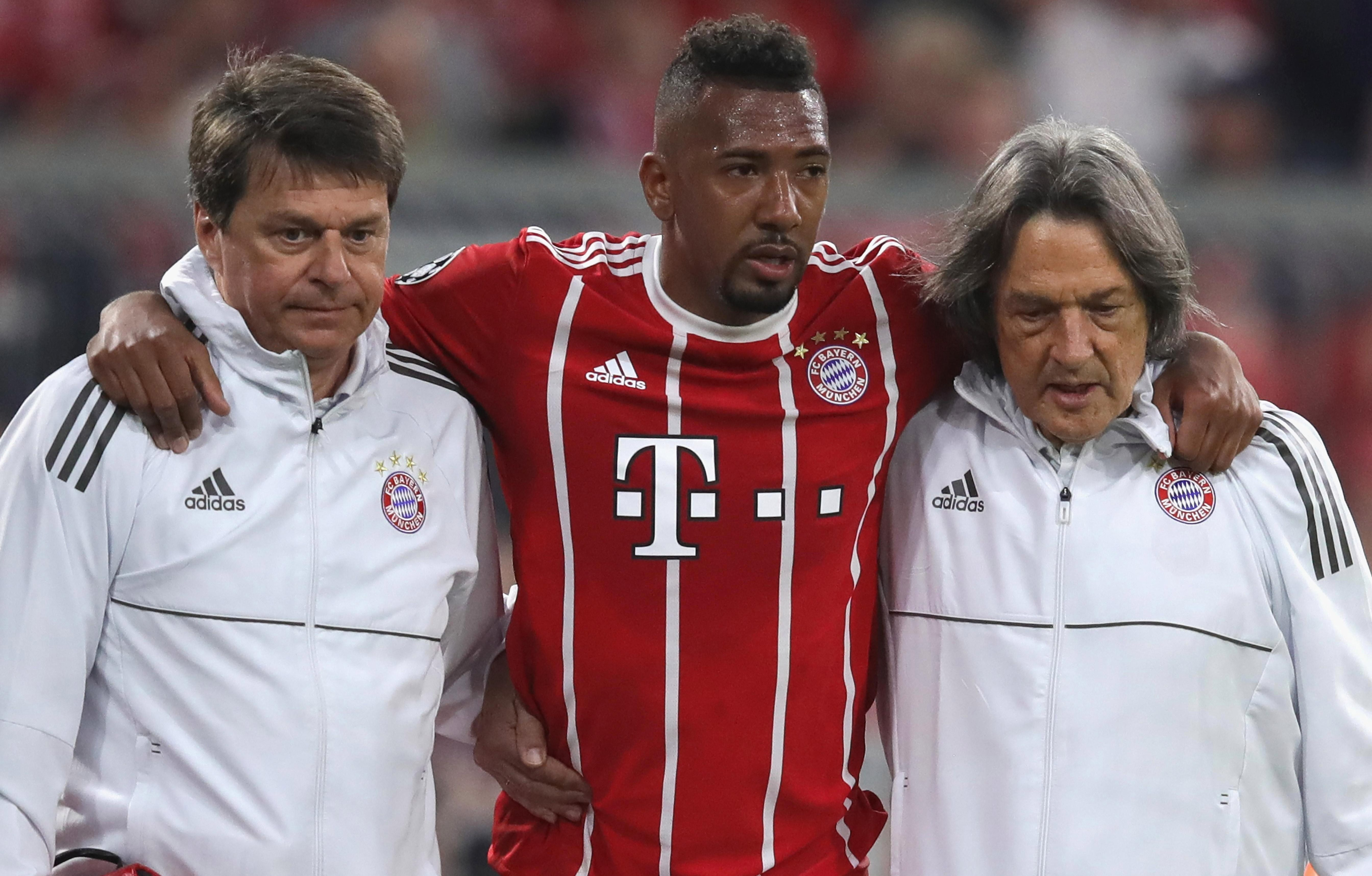 Jerome Boateng is sweating over his fitness ahead of the World Cup
