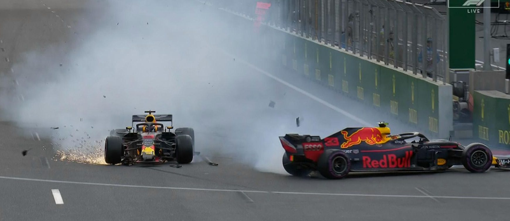Red Bull were furious with the driving of Max Verstappen and Daniel Ricciardo