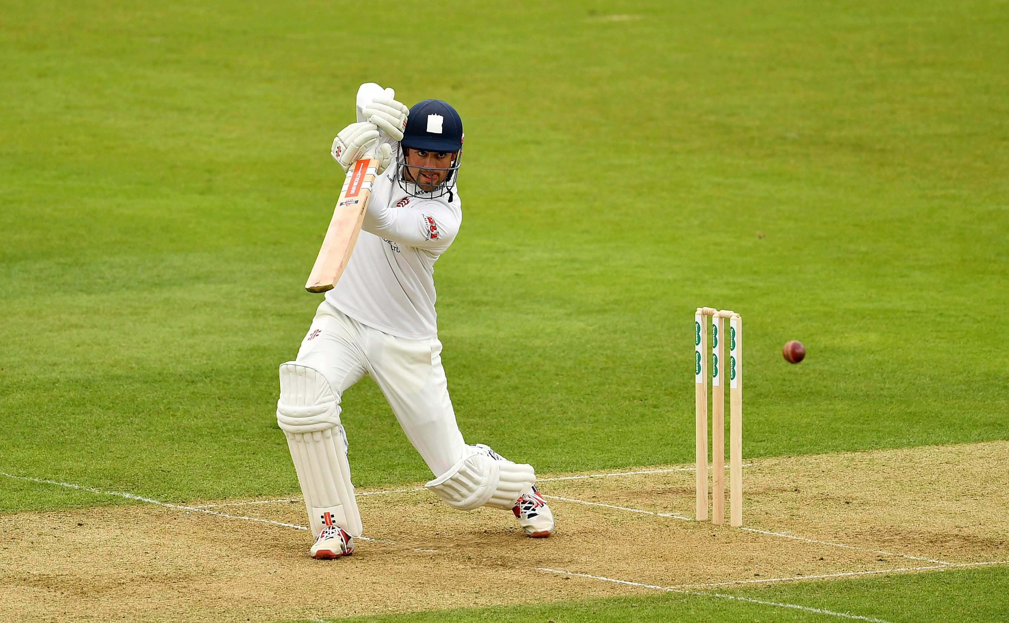 Alastair Cook put in an impressive showing during his first outing of the county season