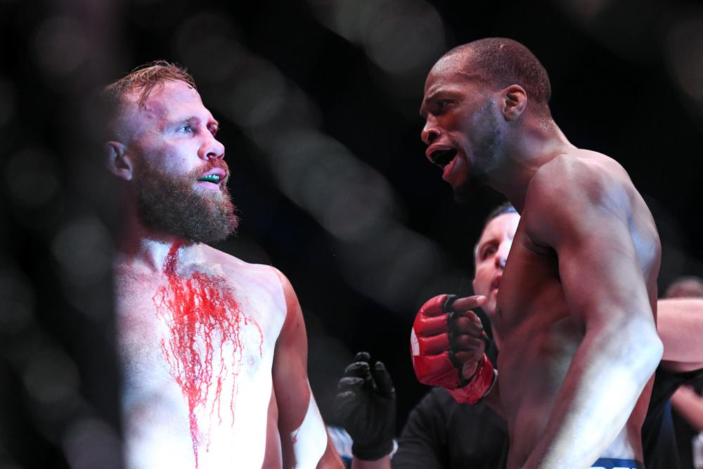 Michael Page forced David Ruckel to quit via verbal KO